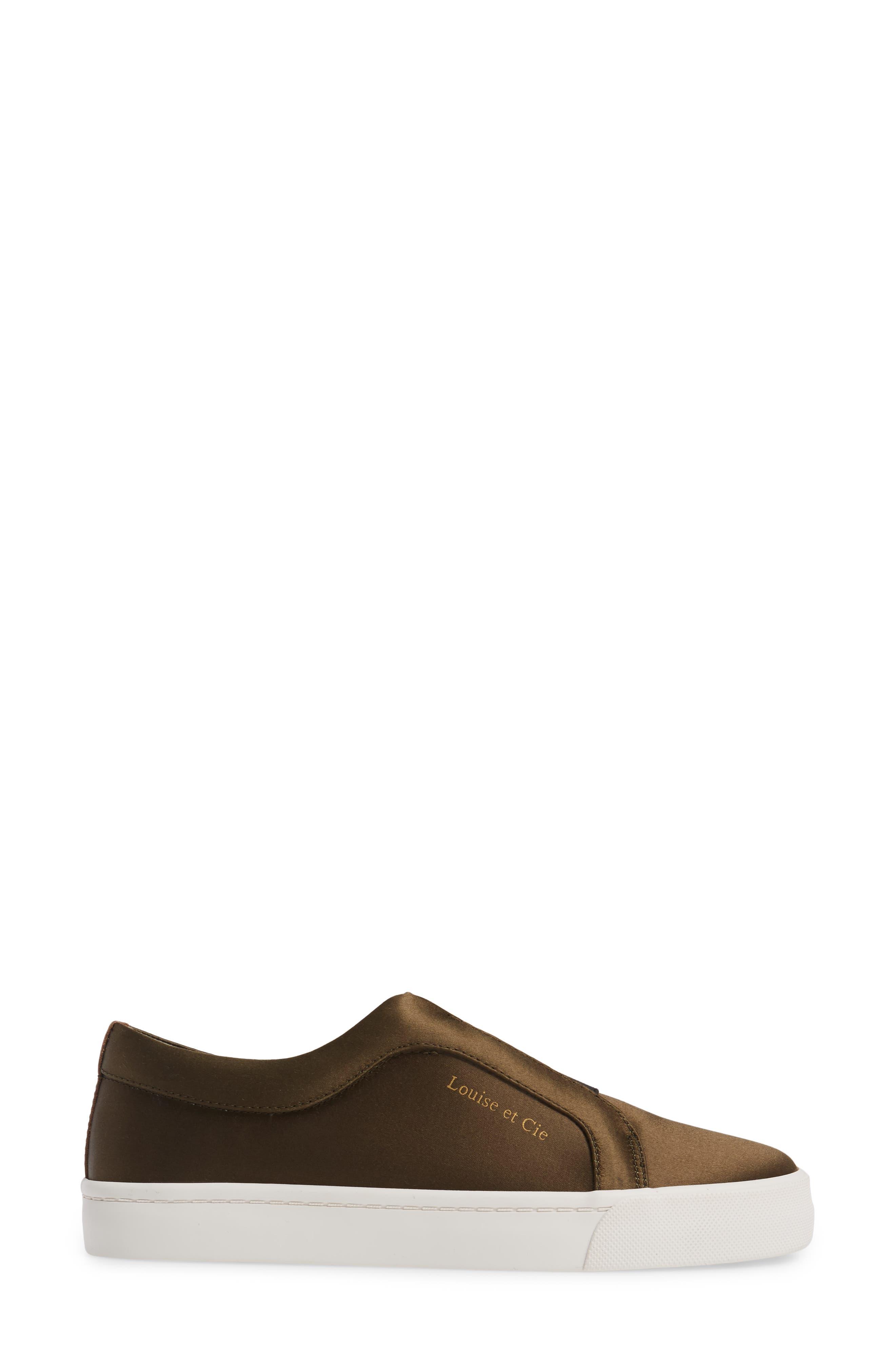 Bette Slip-On Sneaker,                             Alternate thumbnail 3, color,                             Peacoat/ Black Satin