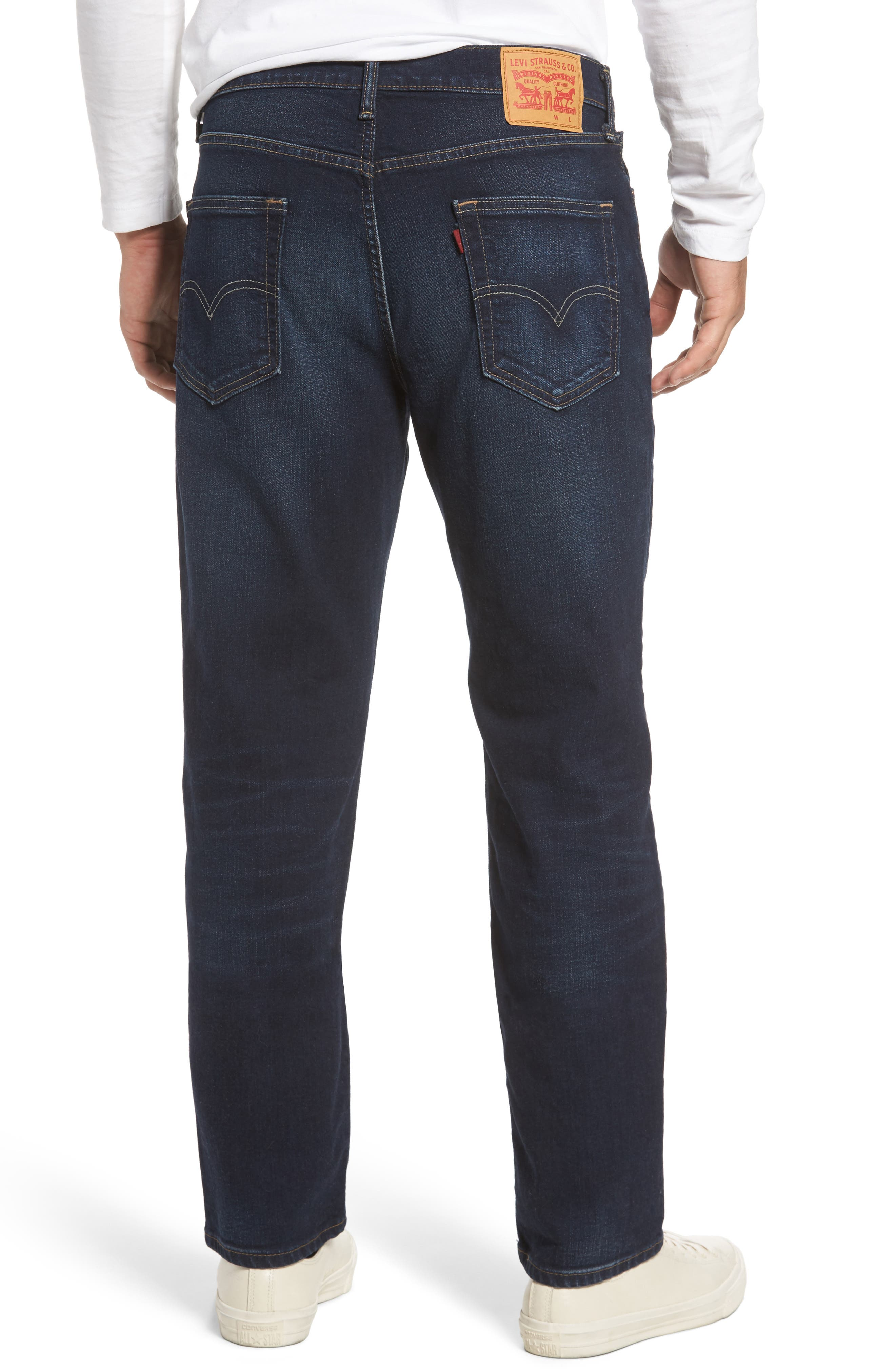 541<sup>™</sup> Athletic Straight Leg Jeans,                             Alternate thumbnail 3, color,                             King Blue