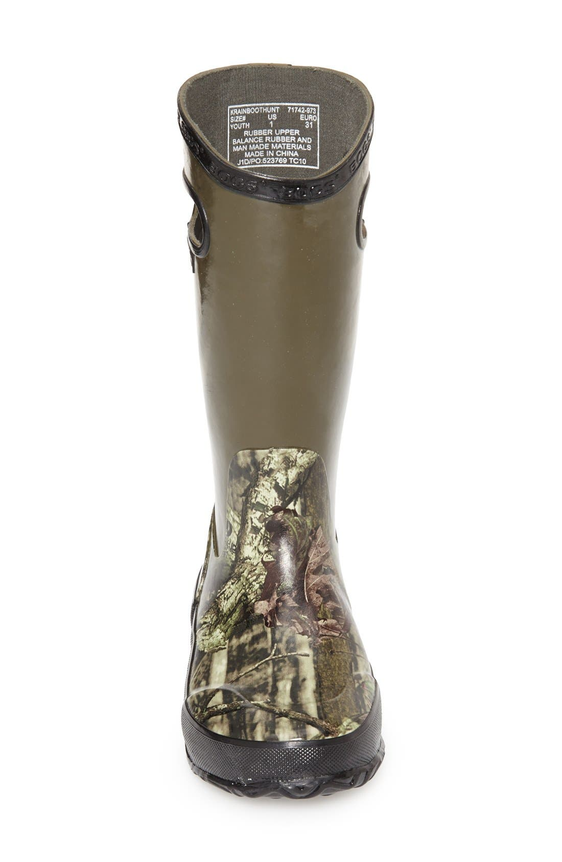 Alternate Image 3  - Bogs Hunting Waterproof Rubber Rain Boot (Walker, Toddler, Little Kid & Big Kid)