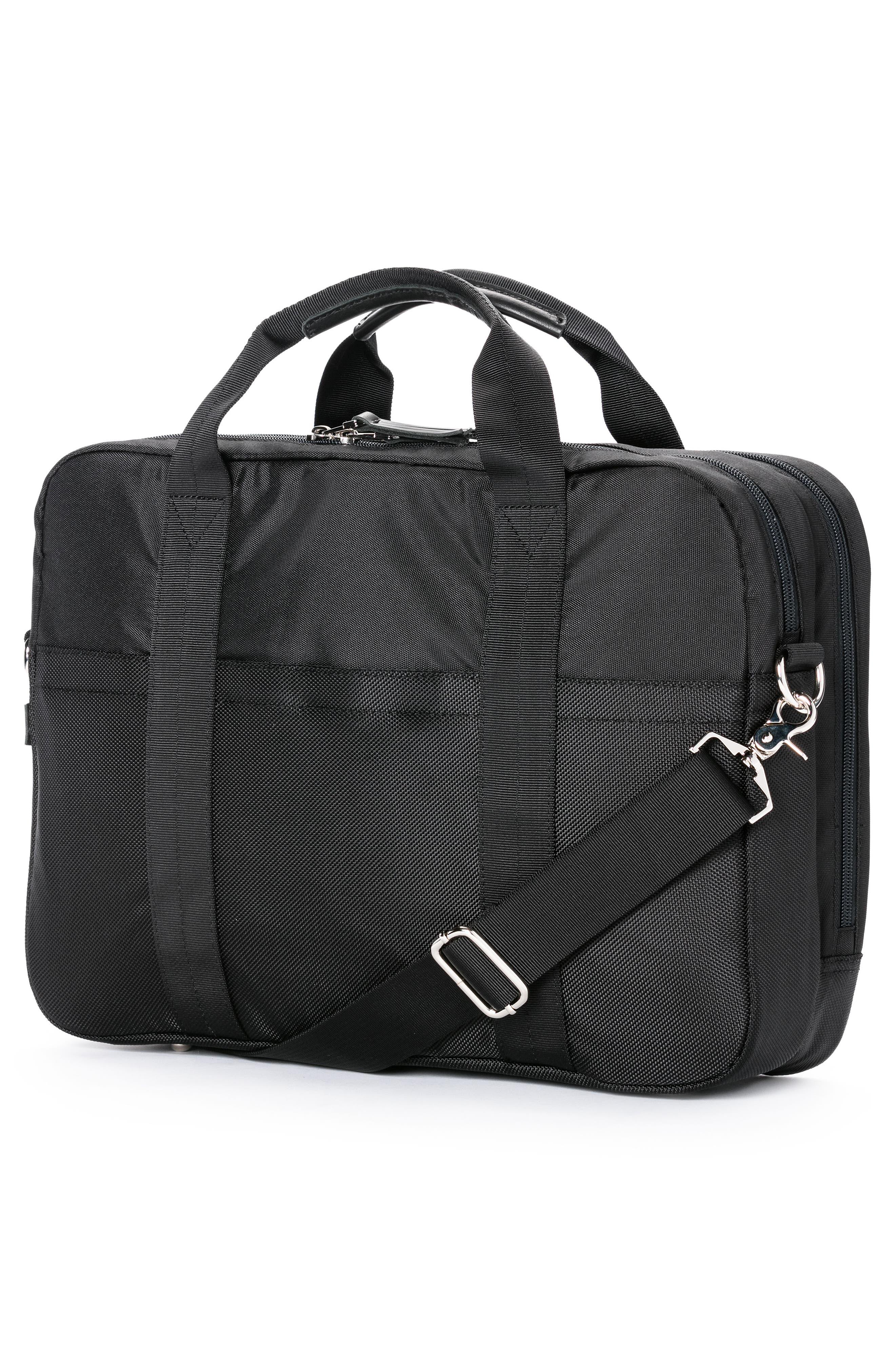 Apache Briefcase,                             Alternate thumbnail 2, color,                             Black