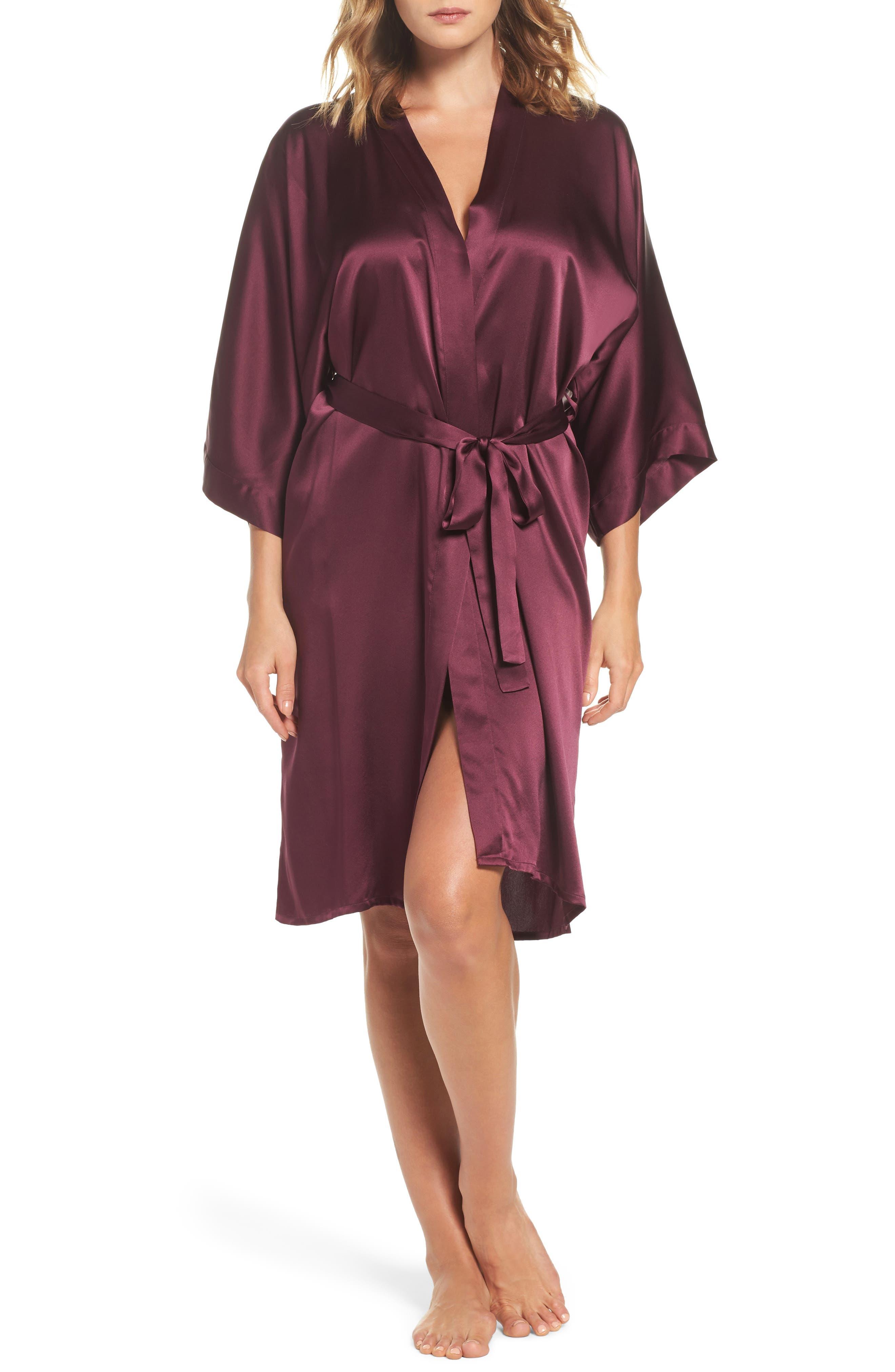 Silk Kimono,                             Main thumbnail 1, color,                             Fig