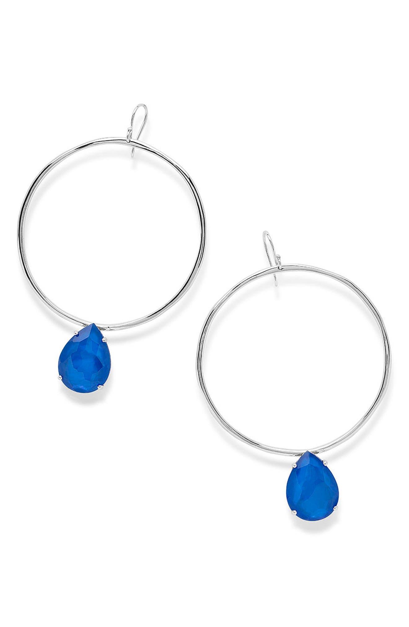 Ippolita Wonderland Large Frontal Hoop Earrings