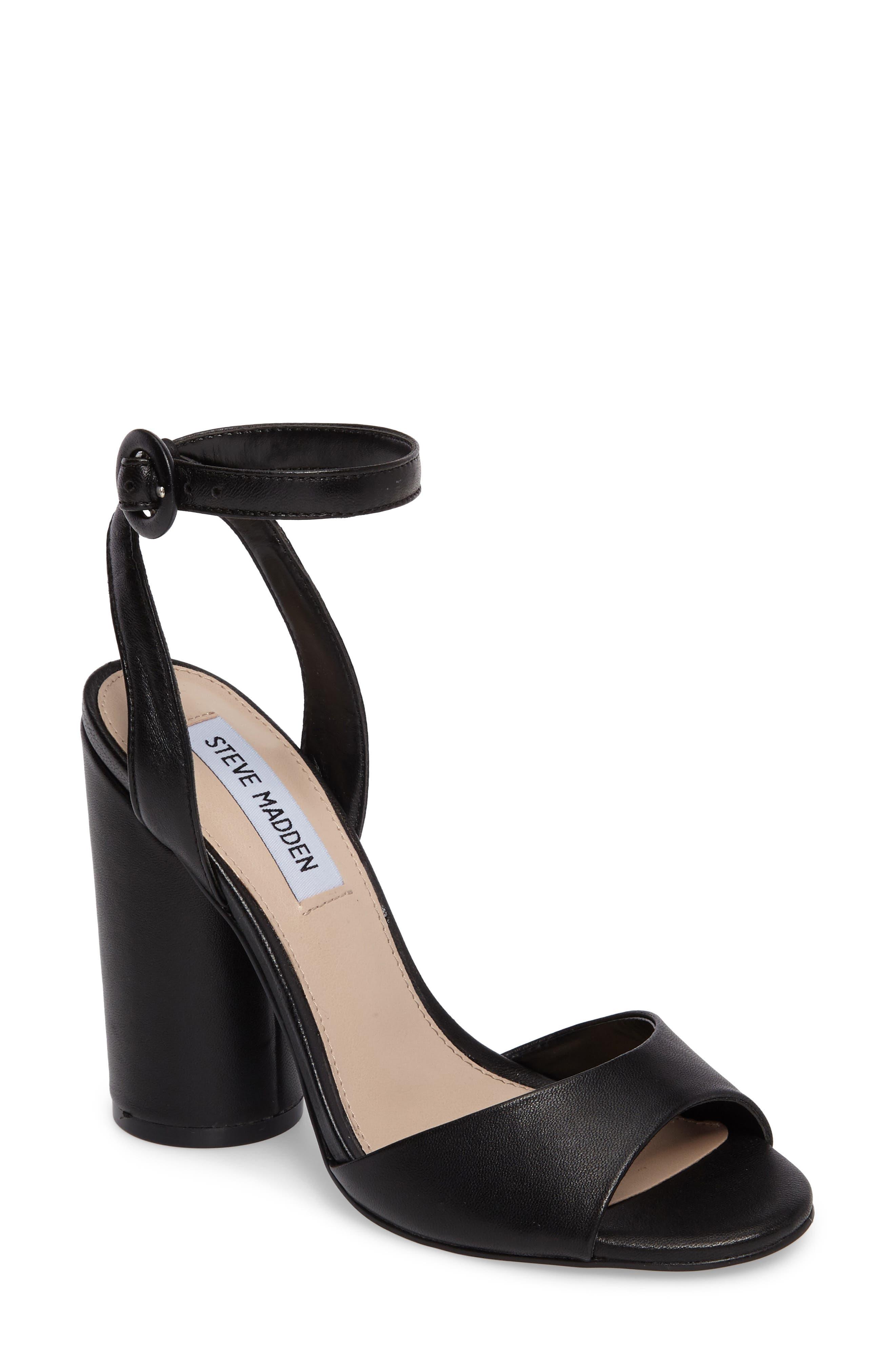 STEVE MADDEN Clare Column Heel Sandal