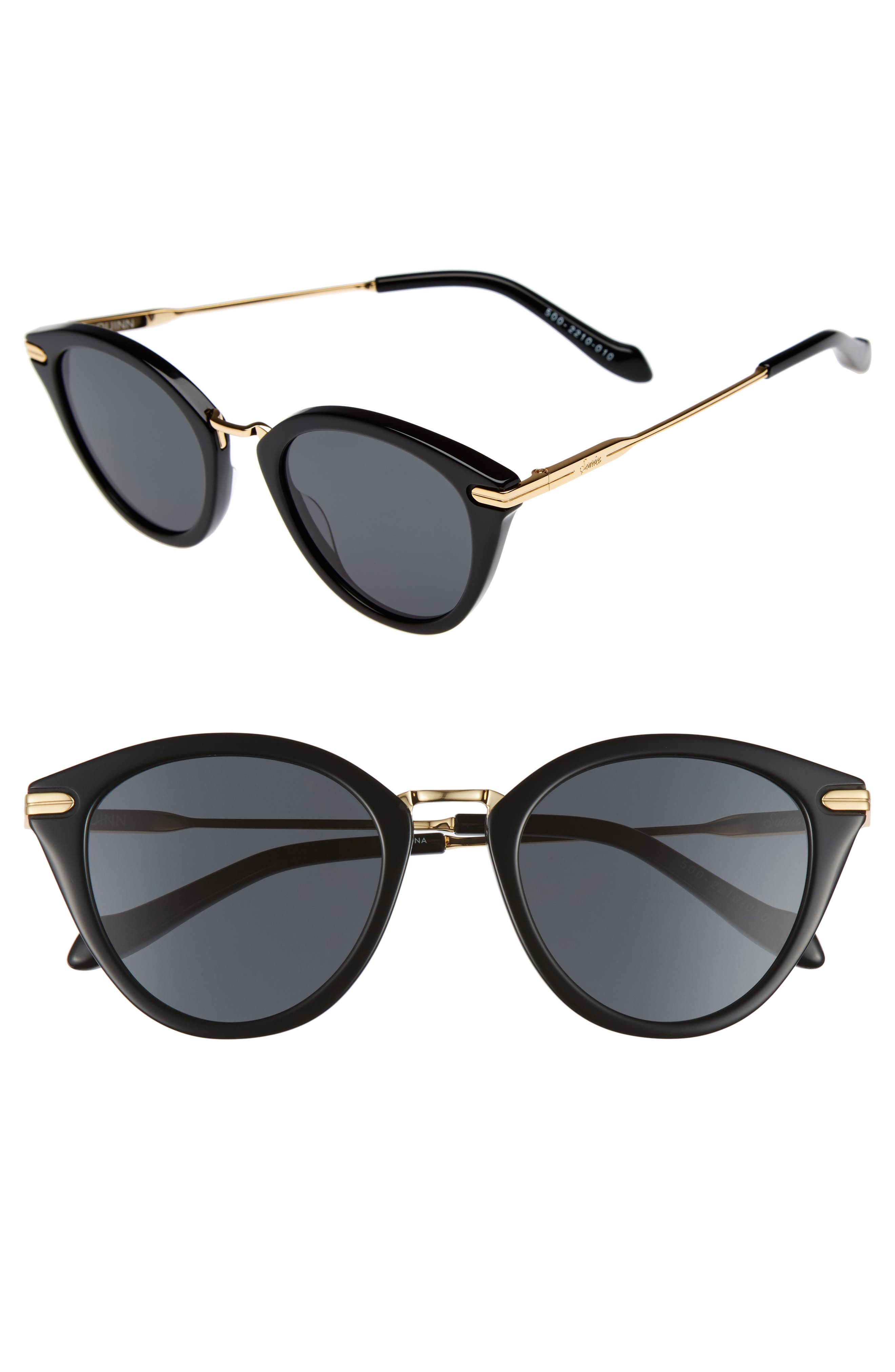 Sonix Quinn 48mm Cat Eye Sunglasses