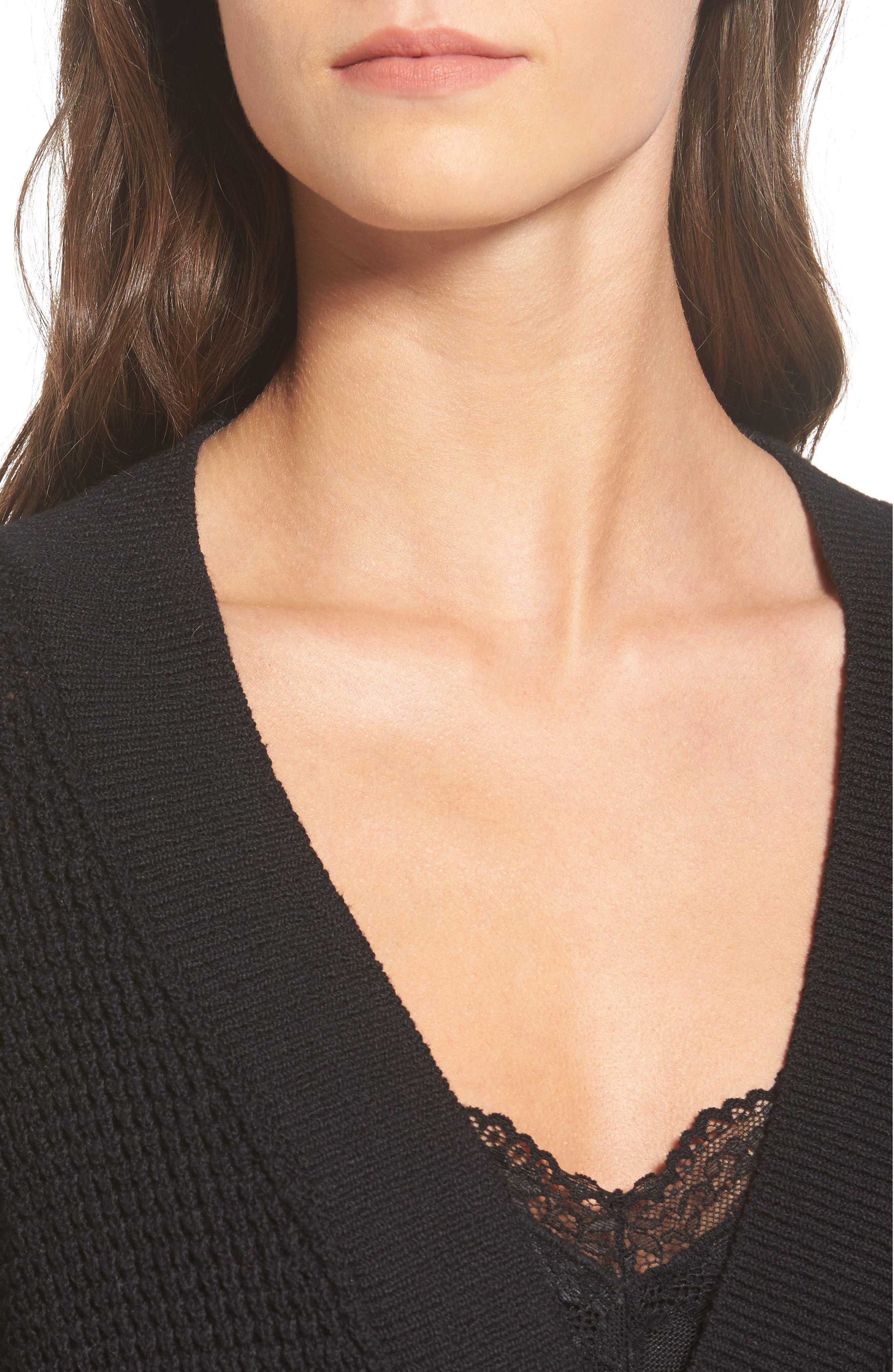Alternate Image 6  - ASTR the Label Stephanie Surplice Sweater
