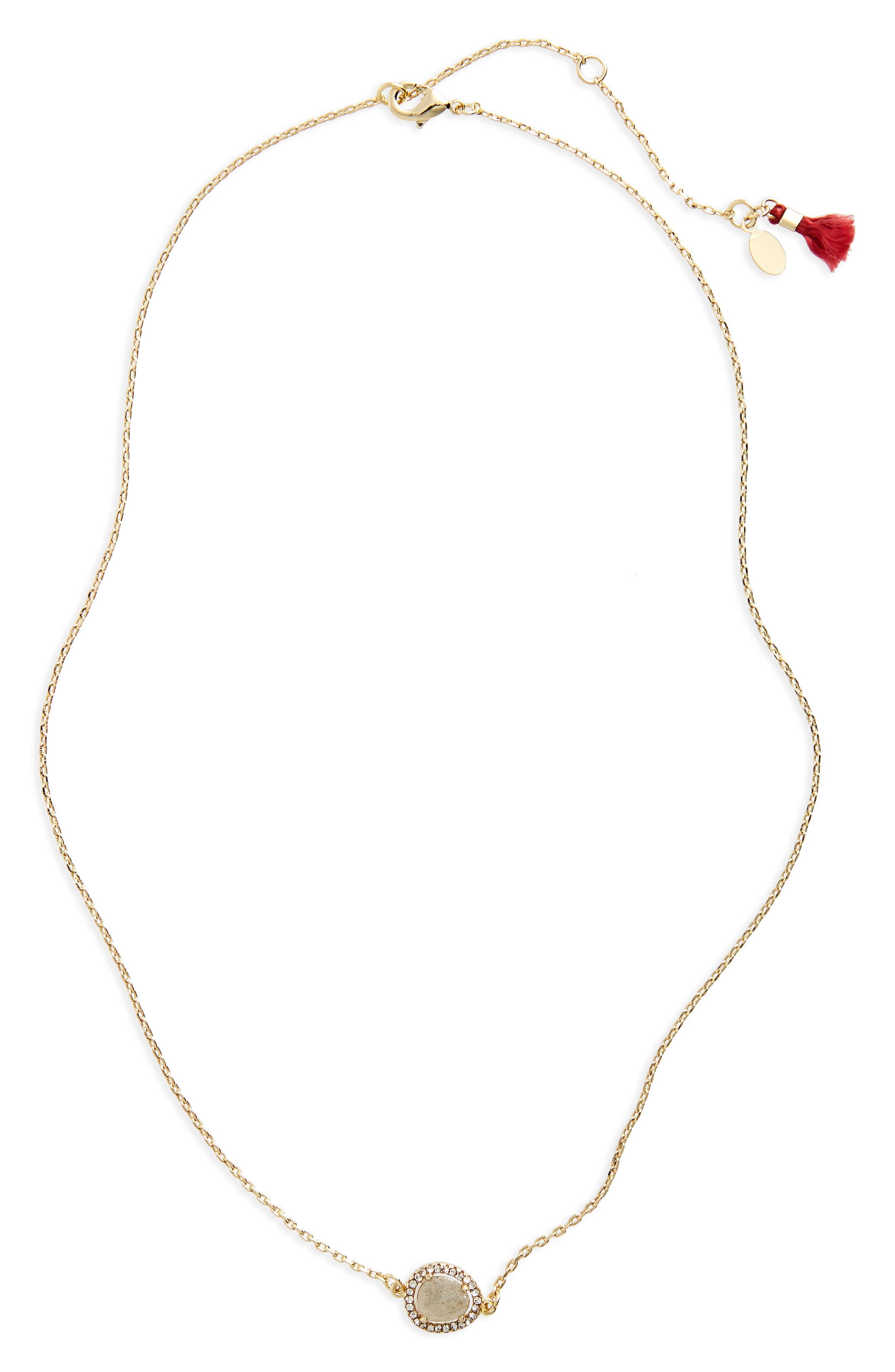 SHASHI Lenora Pendant Necklace