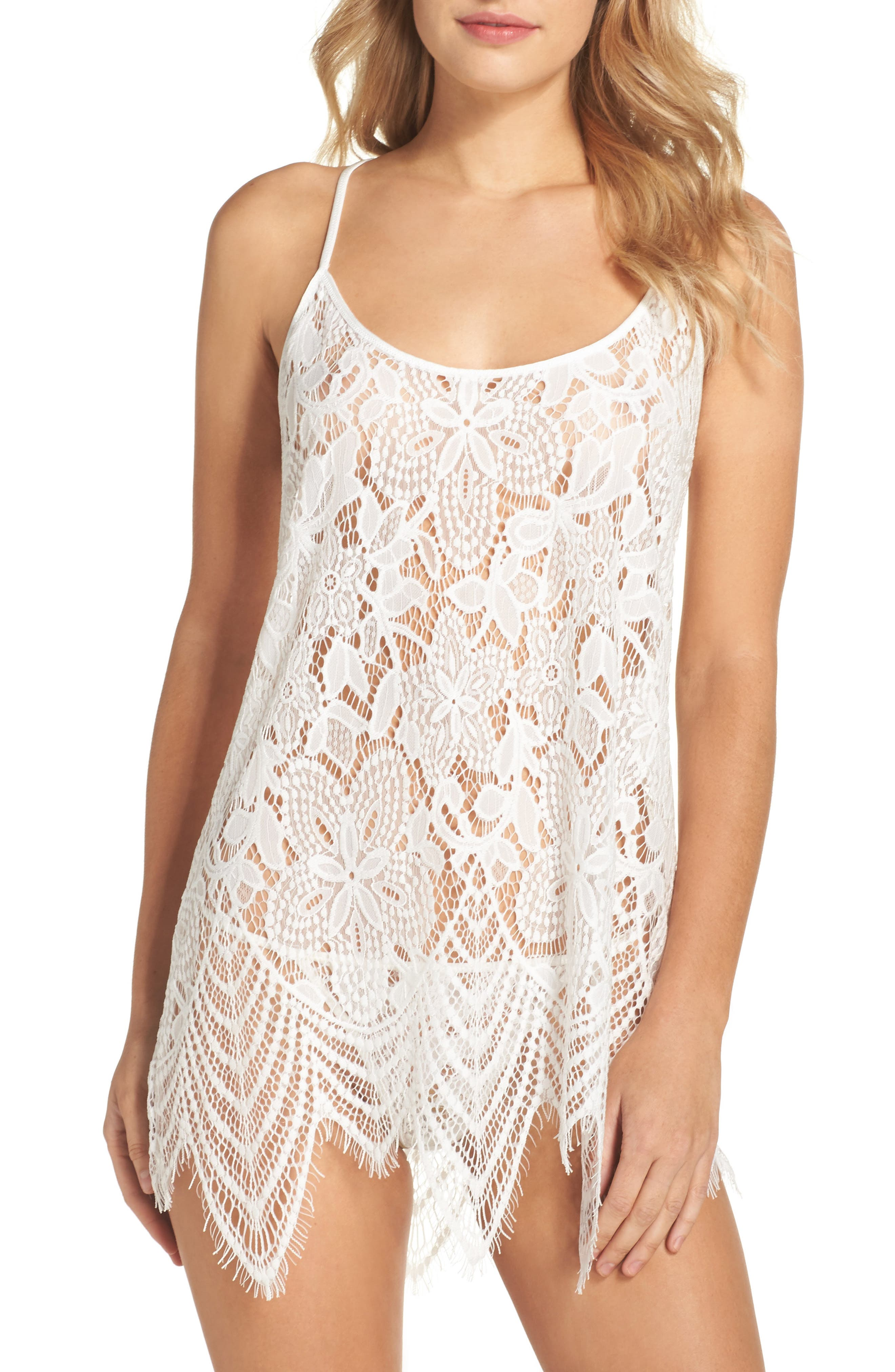 Main Image - In Bloom by Jonquil Lace Chemise & Panties