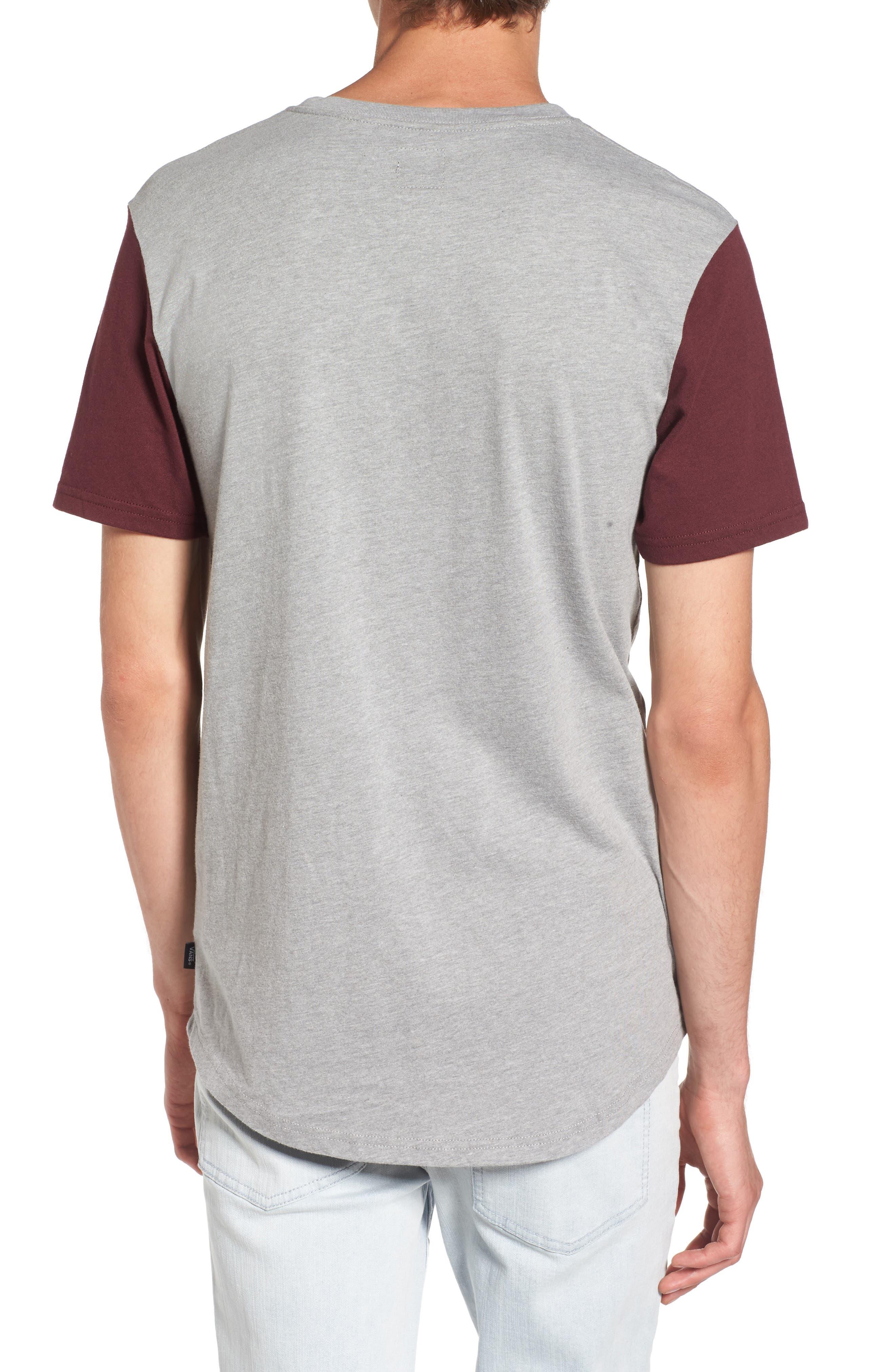 Hitson II Henley T-Shirt,                             Alternate thumbnail 2, color,                             Cement Heather/ Port Royale
