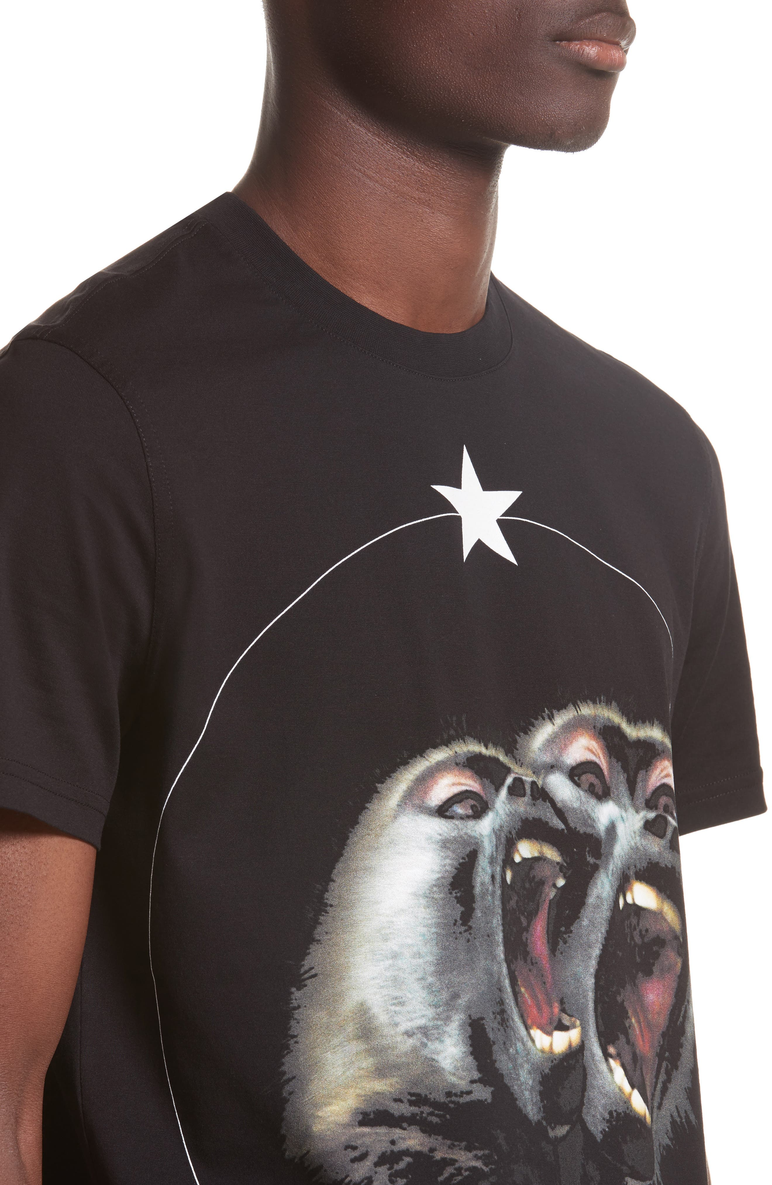 Alternate Image 4  - Givenchy Cuban Fit Monkey Brothers Graphic T-Shirt