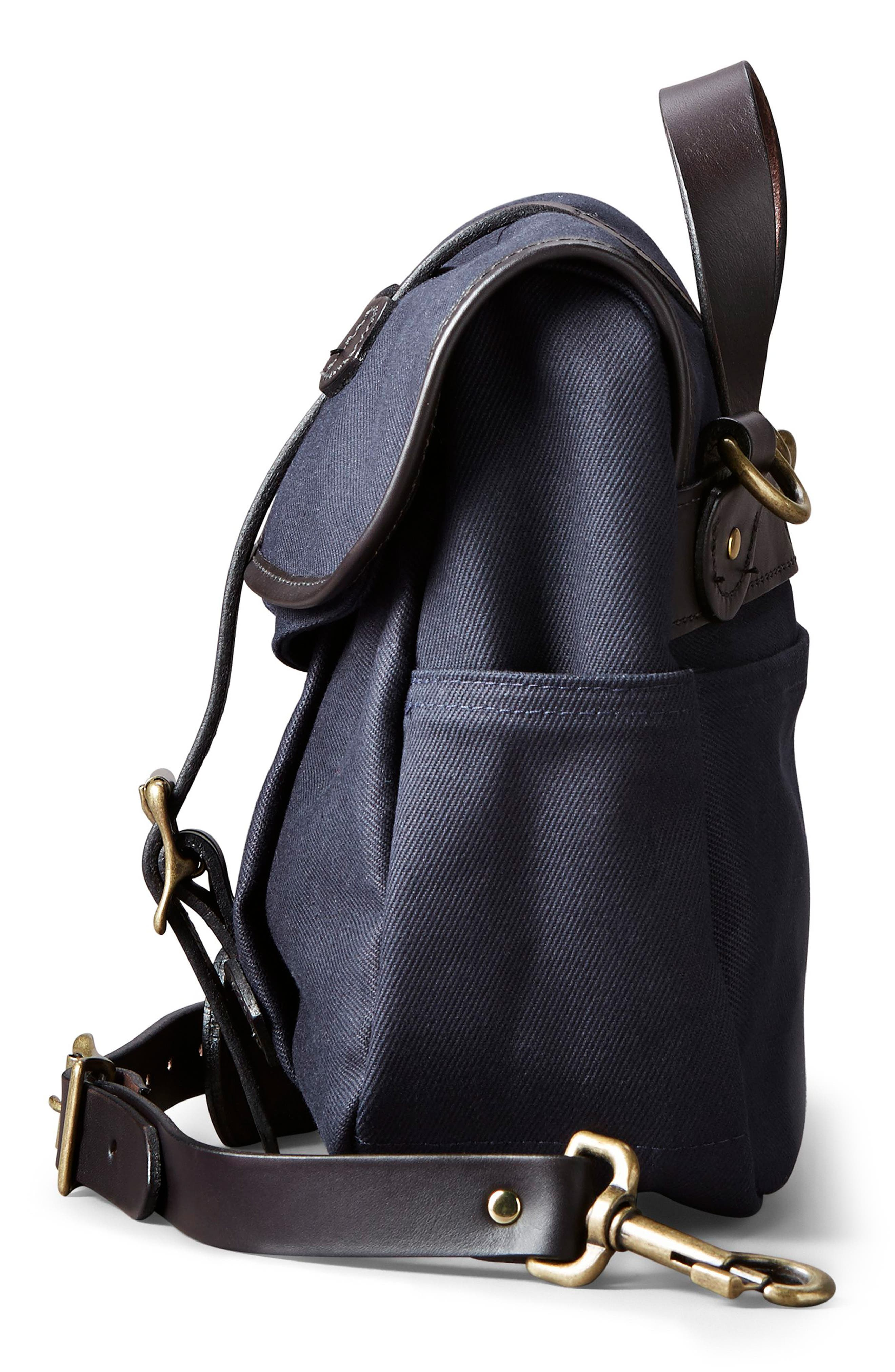 Small Field Bag,                             Alternate thumbnail 4, color,                             Navy