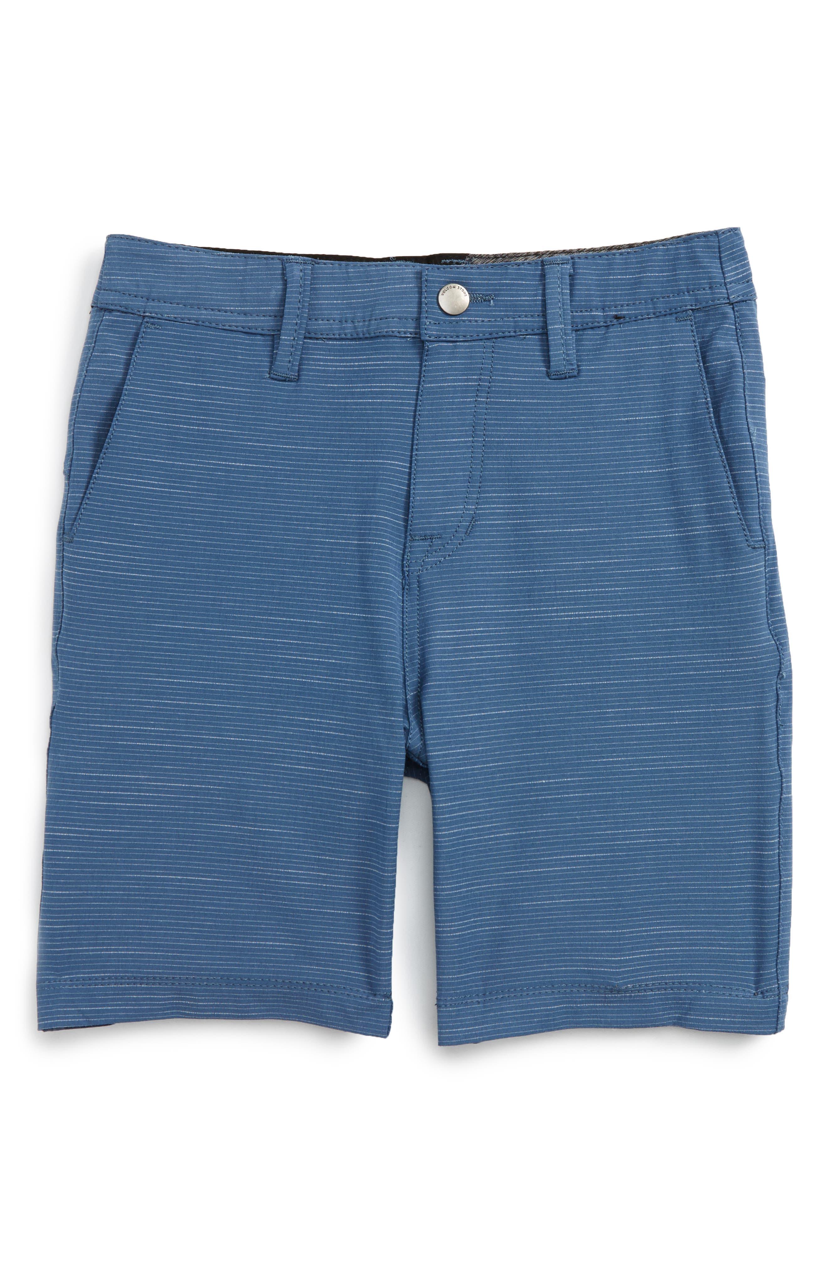 Surf N' Turf Hybrid Shorts,                             Main thumbnail 1, color,                             Blue Smoke