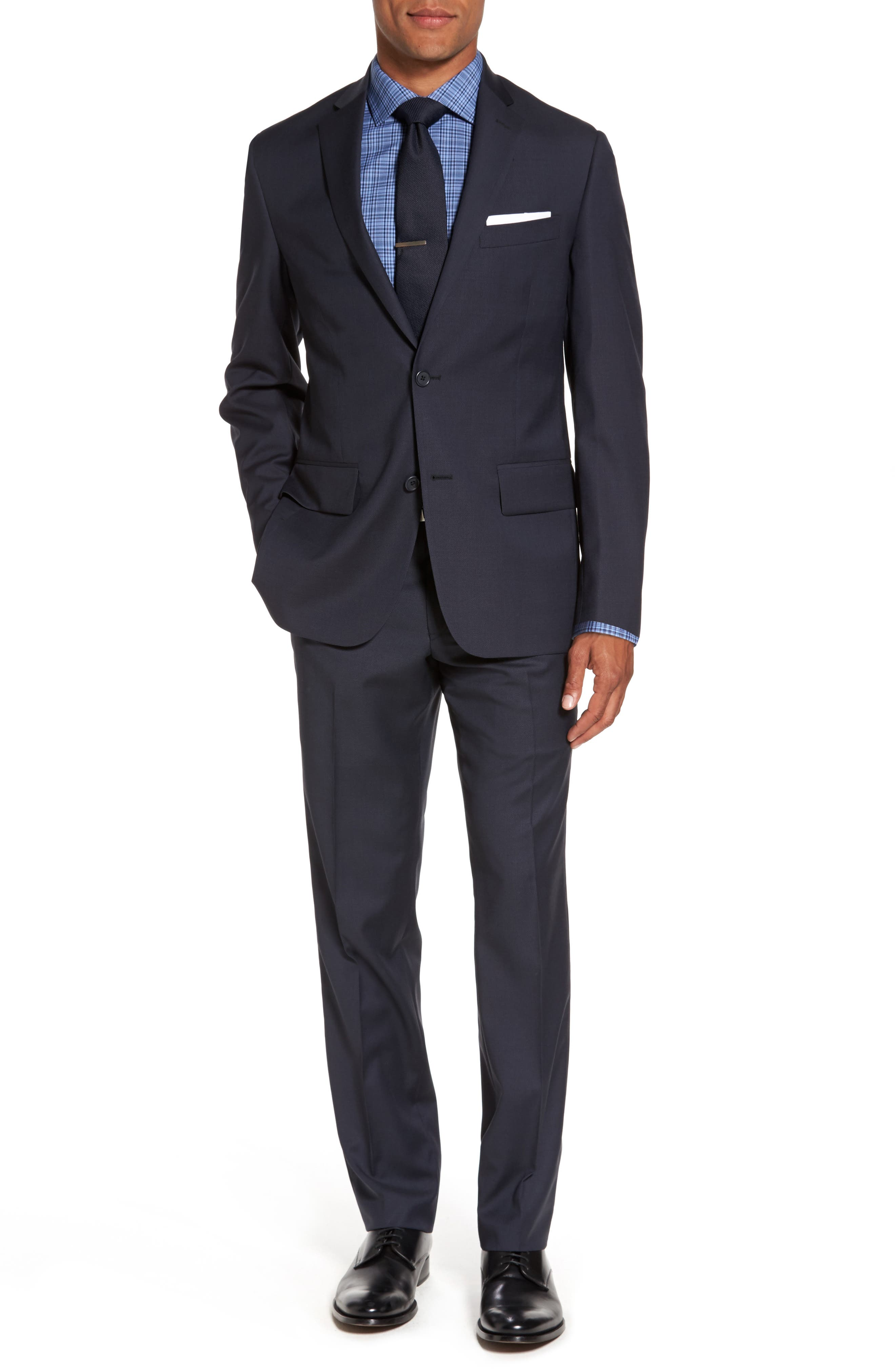 Alternate Image 5  - Nordstrom Men's Shop Smartcare™ Extra Trim Fit Check Dress Shirt