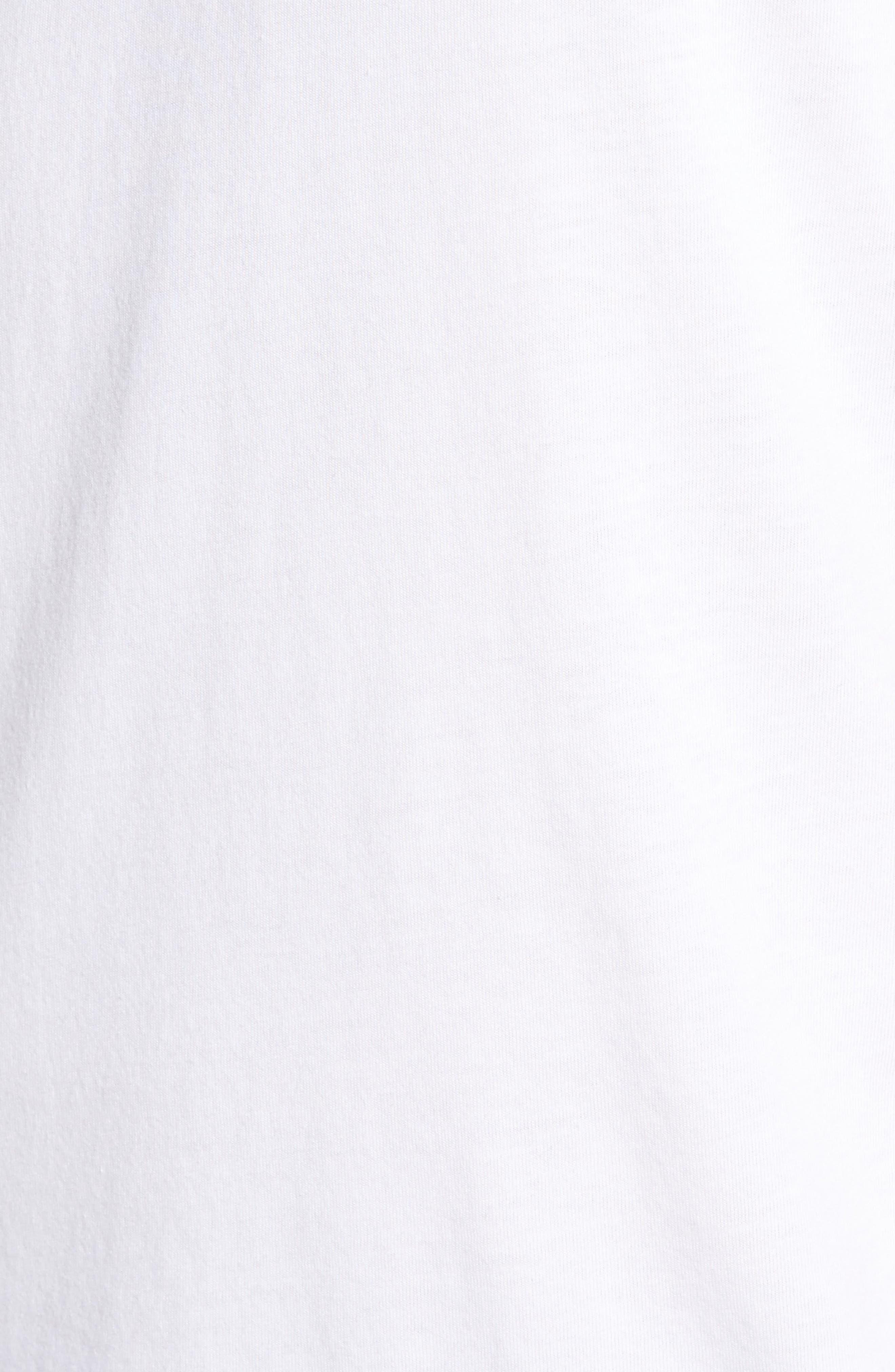 Grayson V-Neck T-Shirt,                             Alternate thumbnail 6, color,                             White