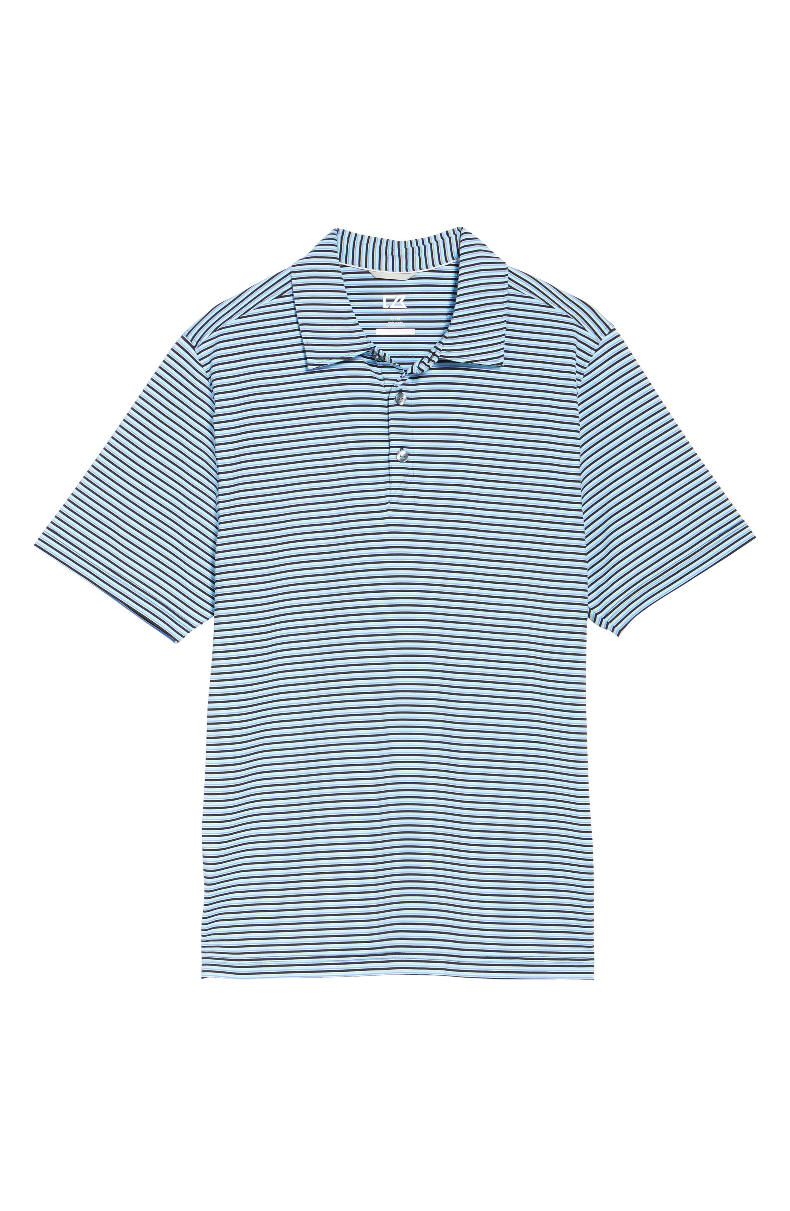 Alternate Image 6  - Cutter & Buck Division Stripe Jersey Polo