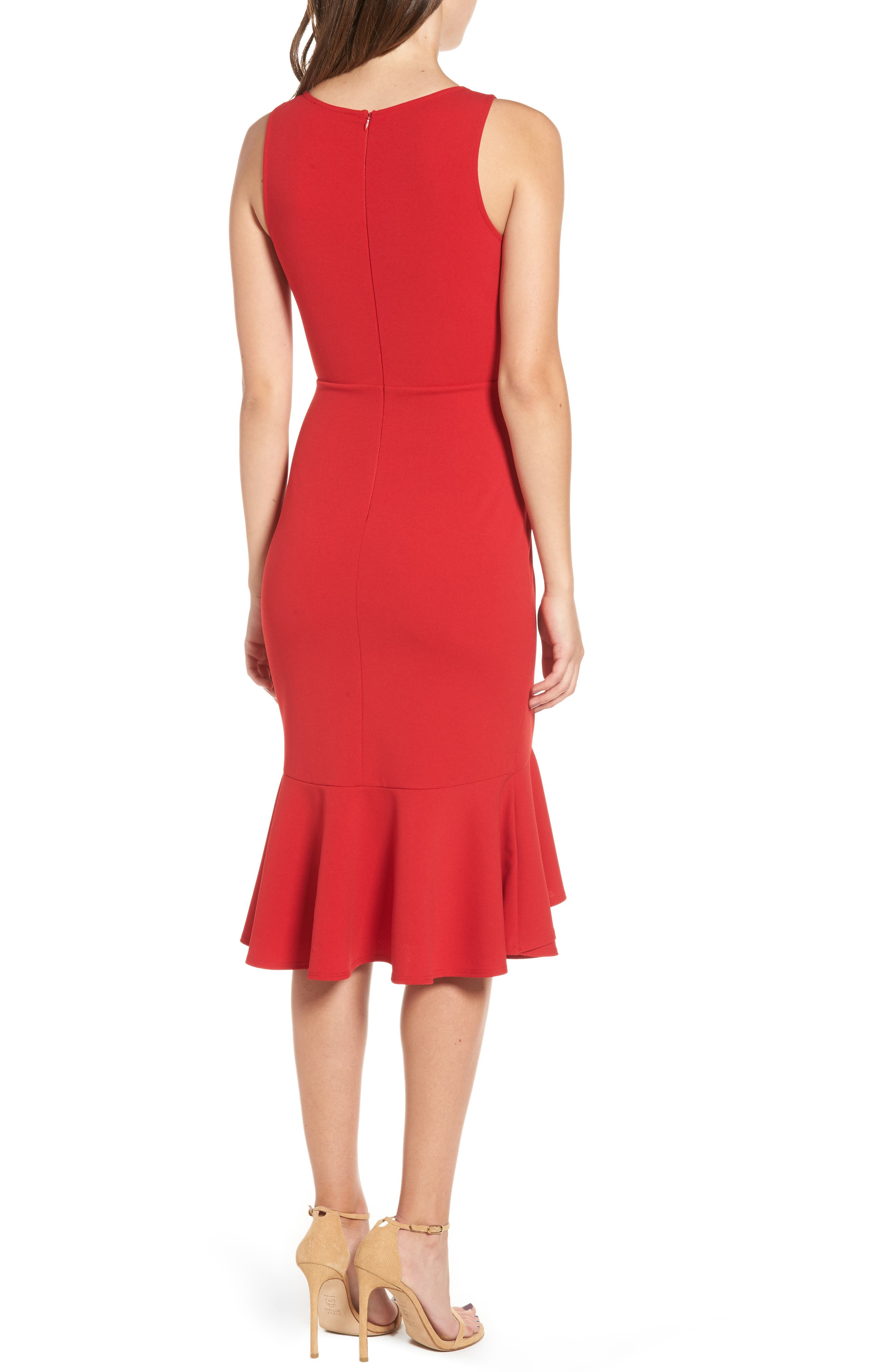 Alternate Image 2  - Soprano Ruffle Hem Dress