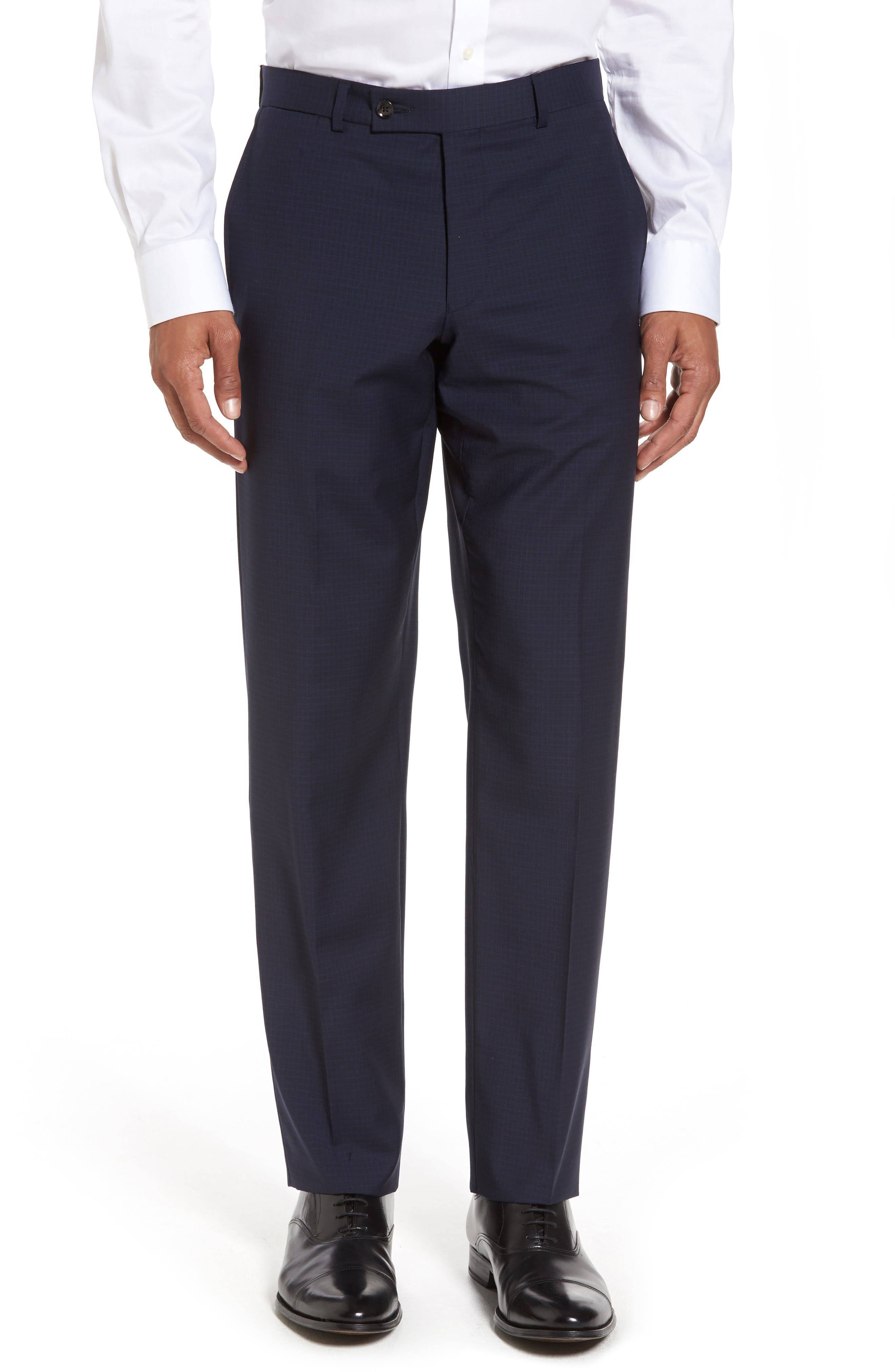 Alternate Image 6  - Ted Baker London Jay Trim Fit Check Wool Suit