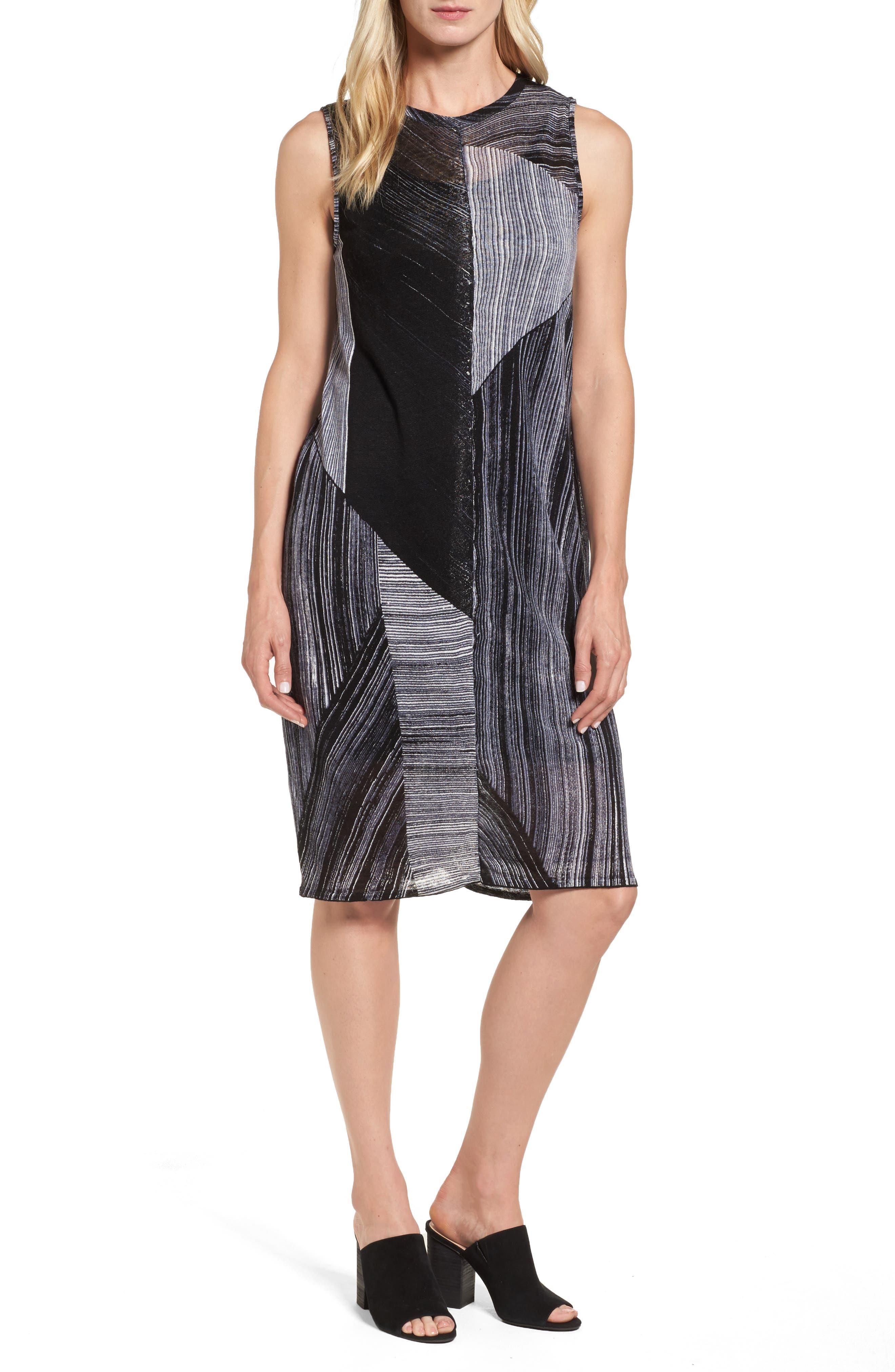 NIC+ZOE Waterfall Shift Dress
