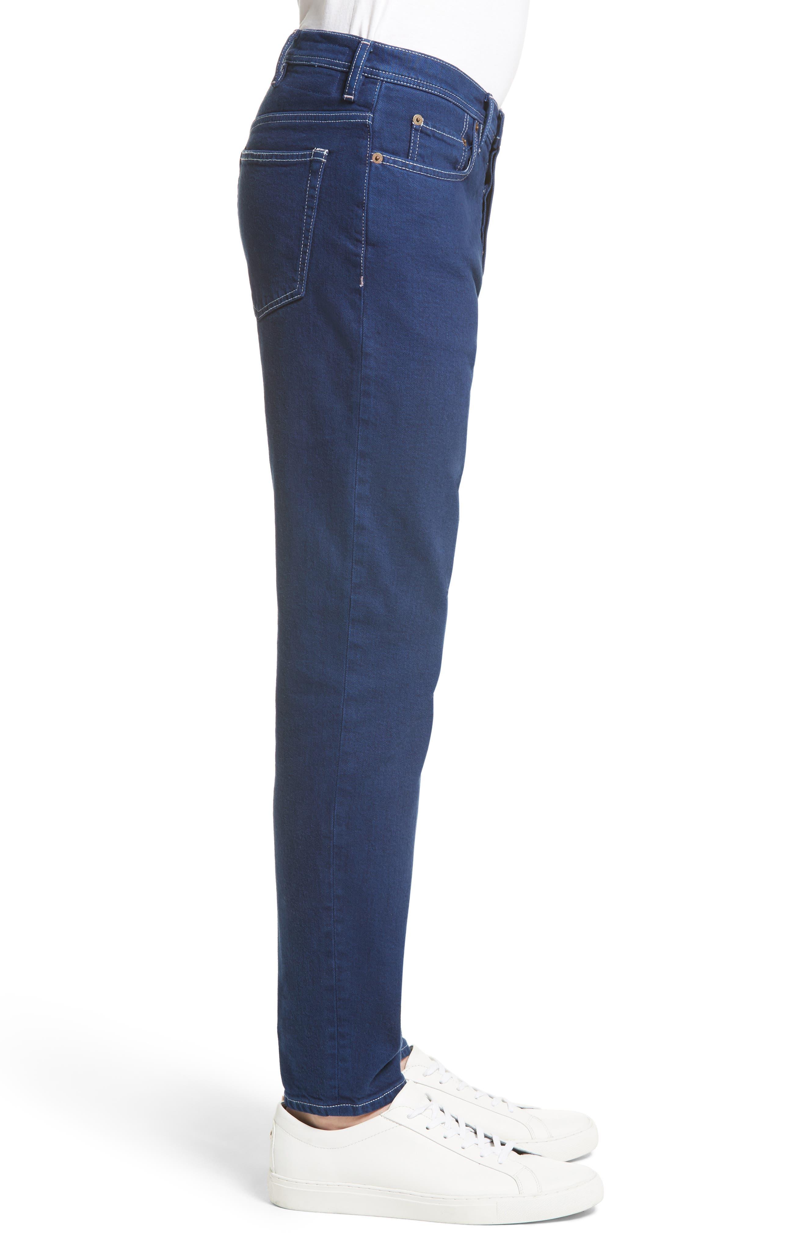 Alternate Image 3  - ACNE Studios River Slim Tapered Fit Jeans (Cobalt)