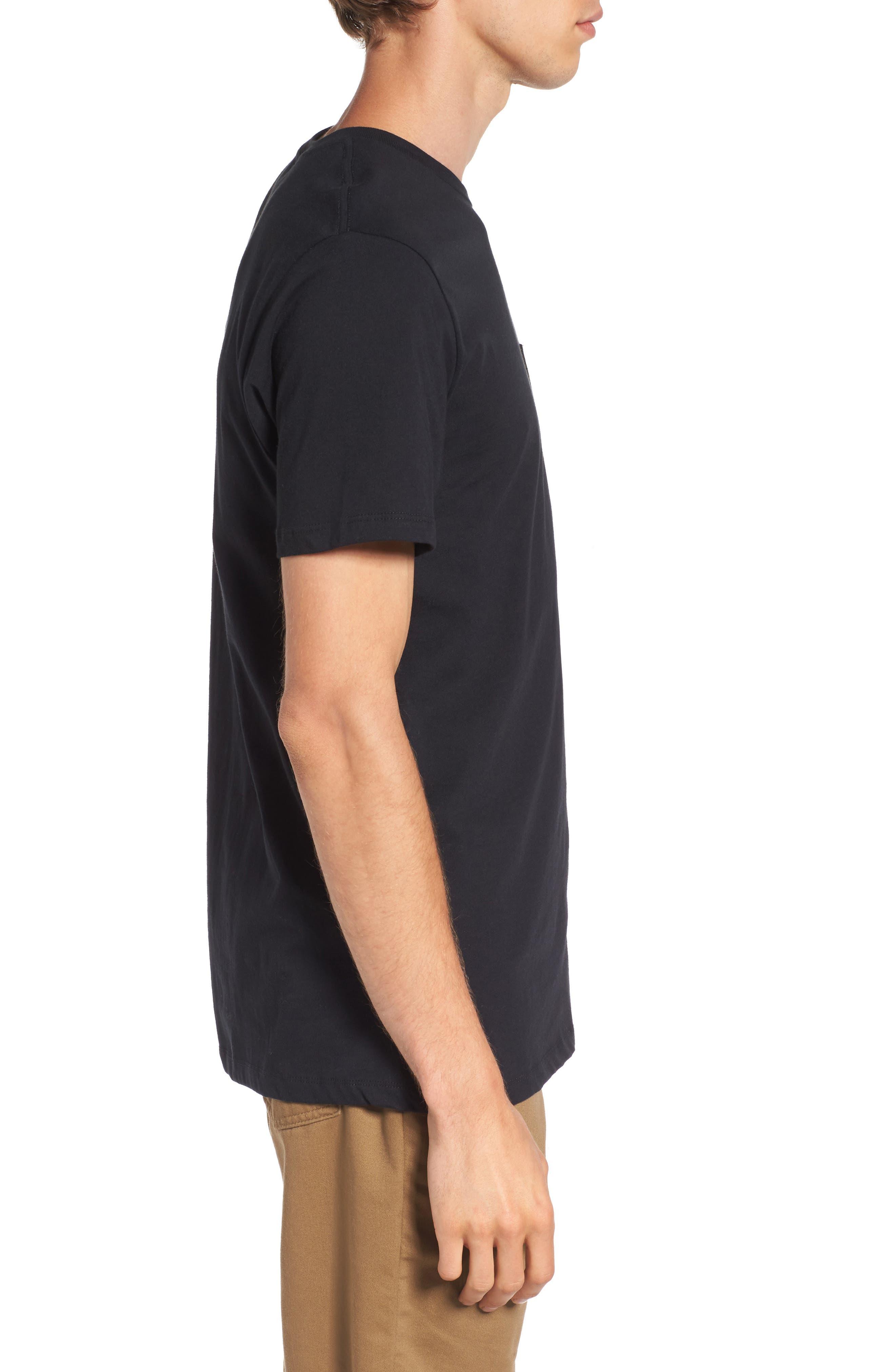 Alternate Image 3  - Vans Everyday Embroidered Pocket T-Shirt