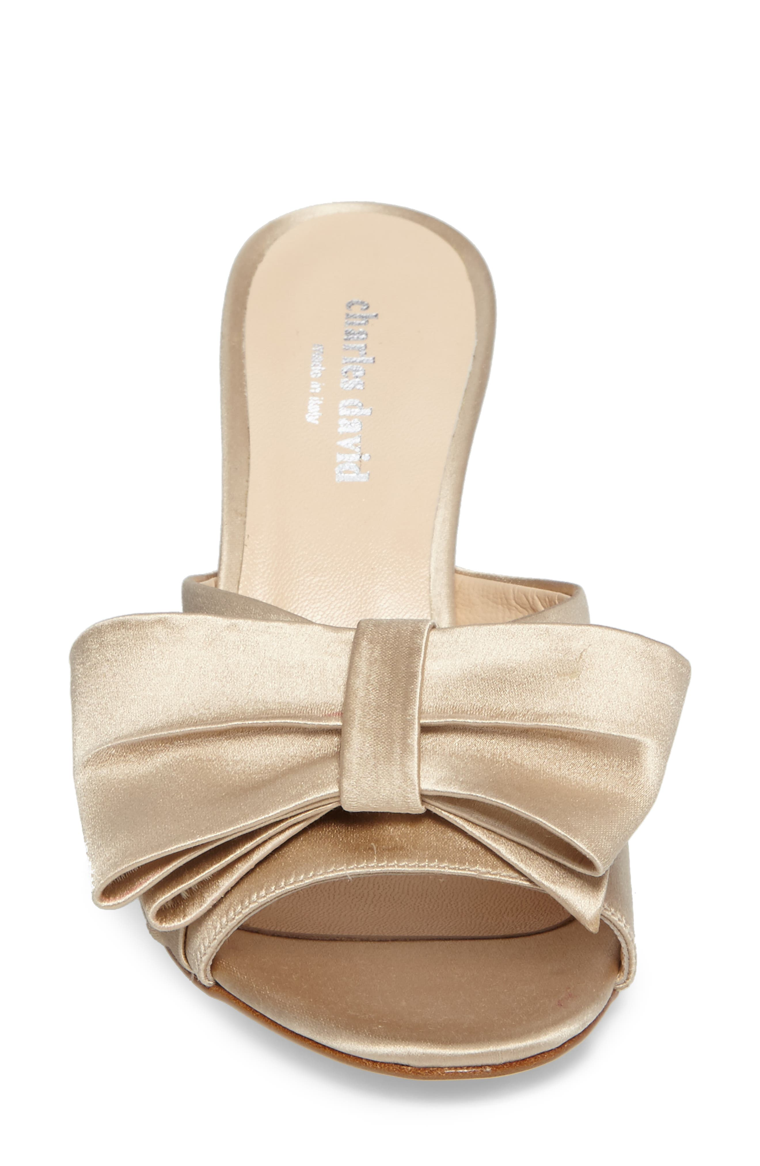Alternate Image 4  - Charles David Sasha Asymmetrical Bow Mule (Women)