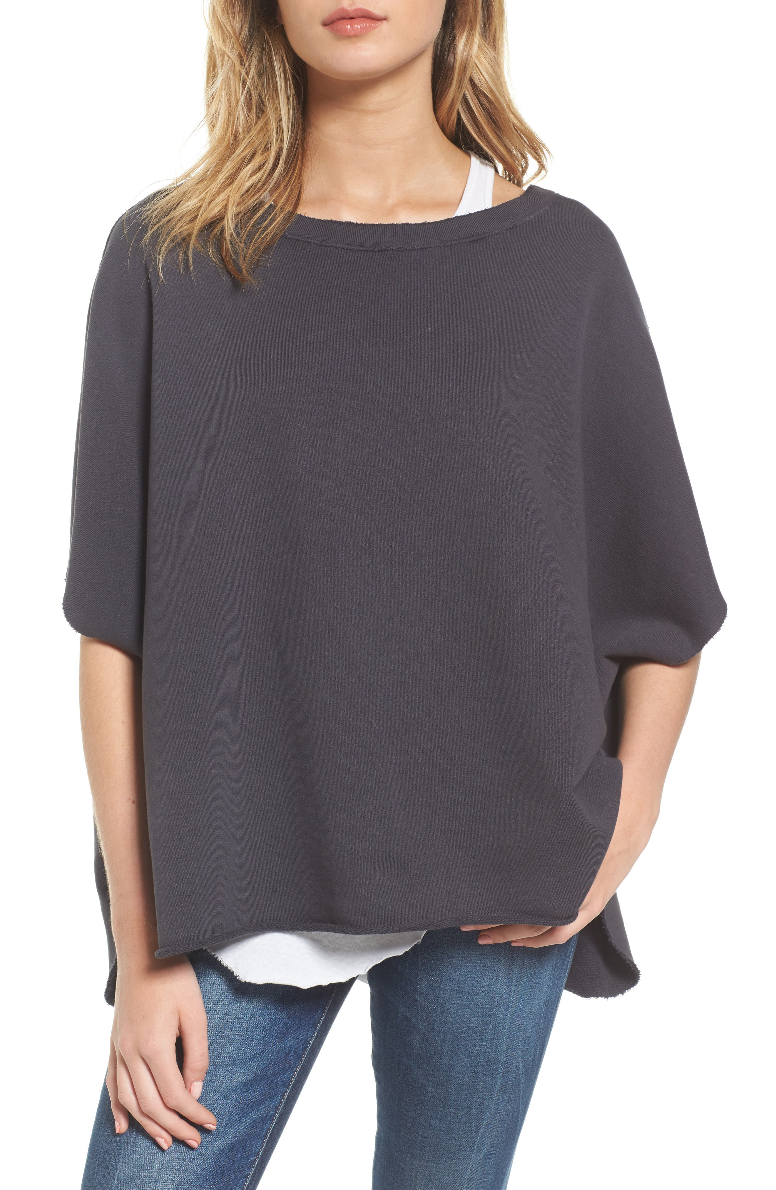 Alternate Image 1 Selected - Frank & Eileen Tee Lab Cotton Poncho