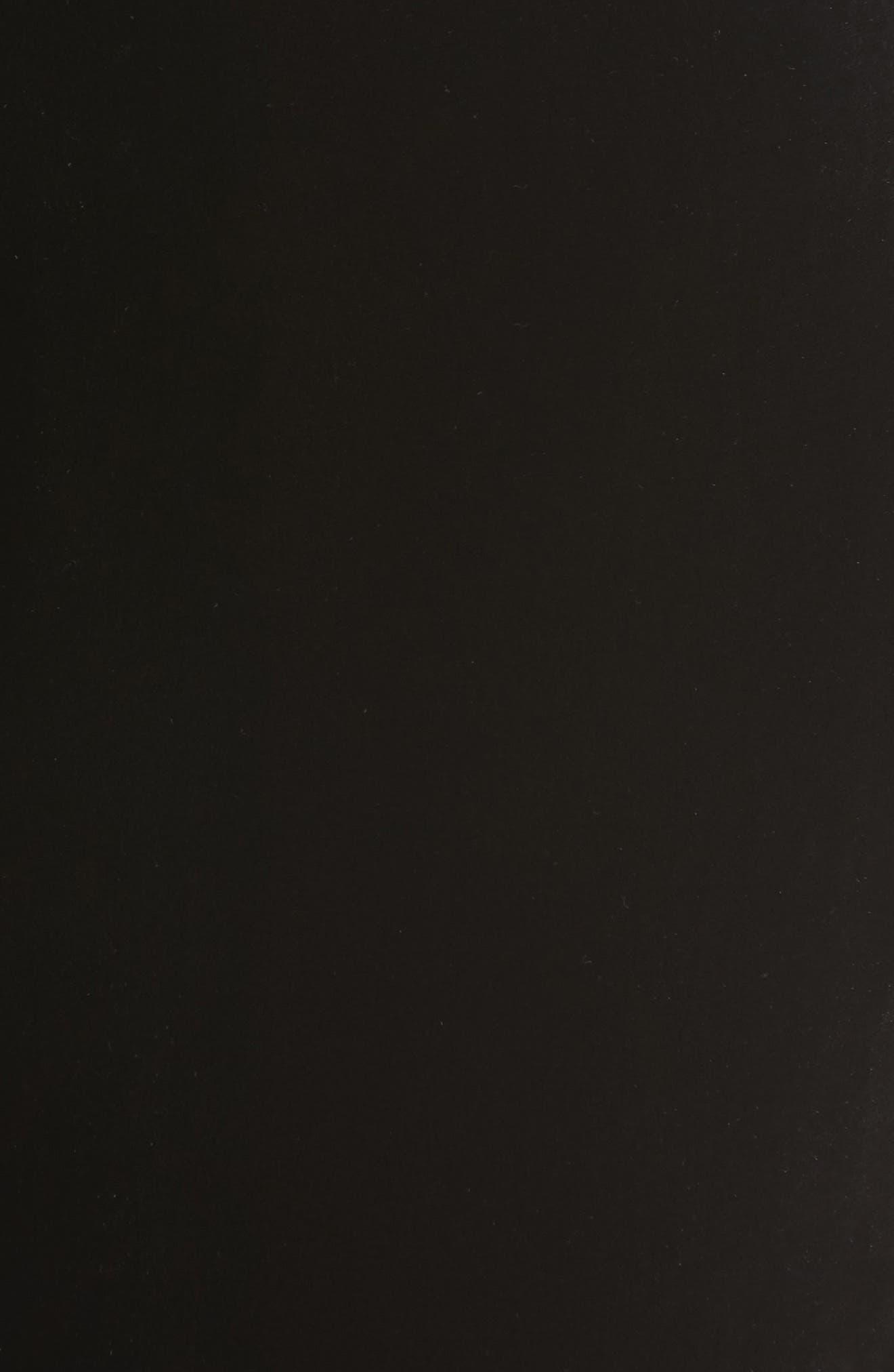 Soho Velvet Track Pants,                             Alternate thumbnail 5, color,                             Black