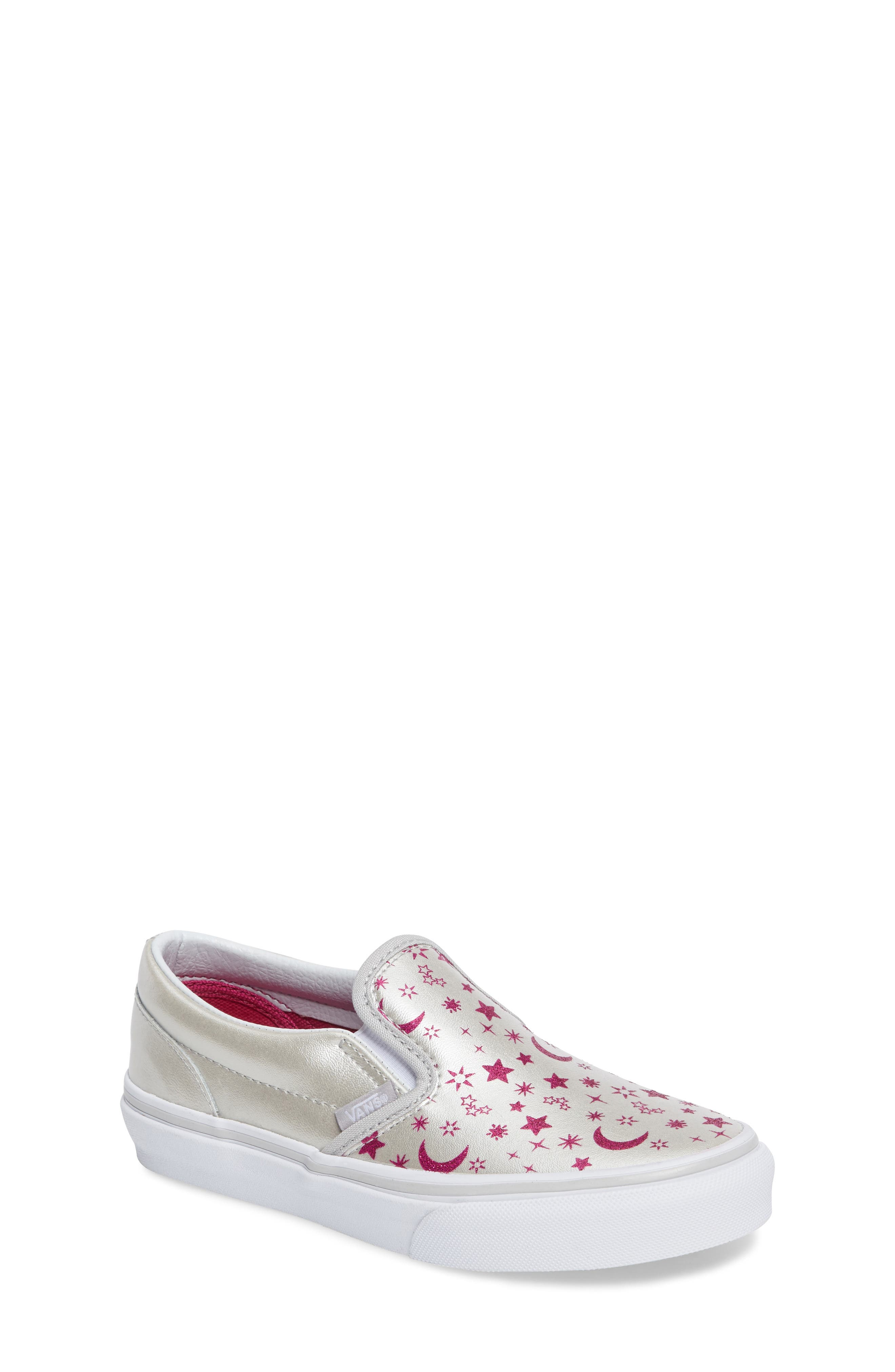 Classic Slip-On Sneaker,                             Main thumbnail 1, color,                             Star Glitter Micro Chip