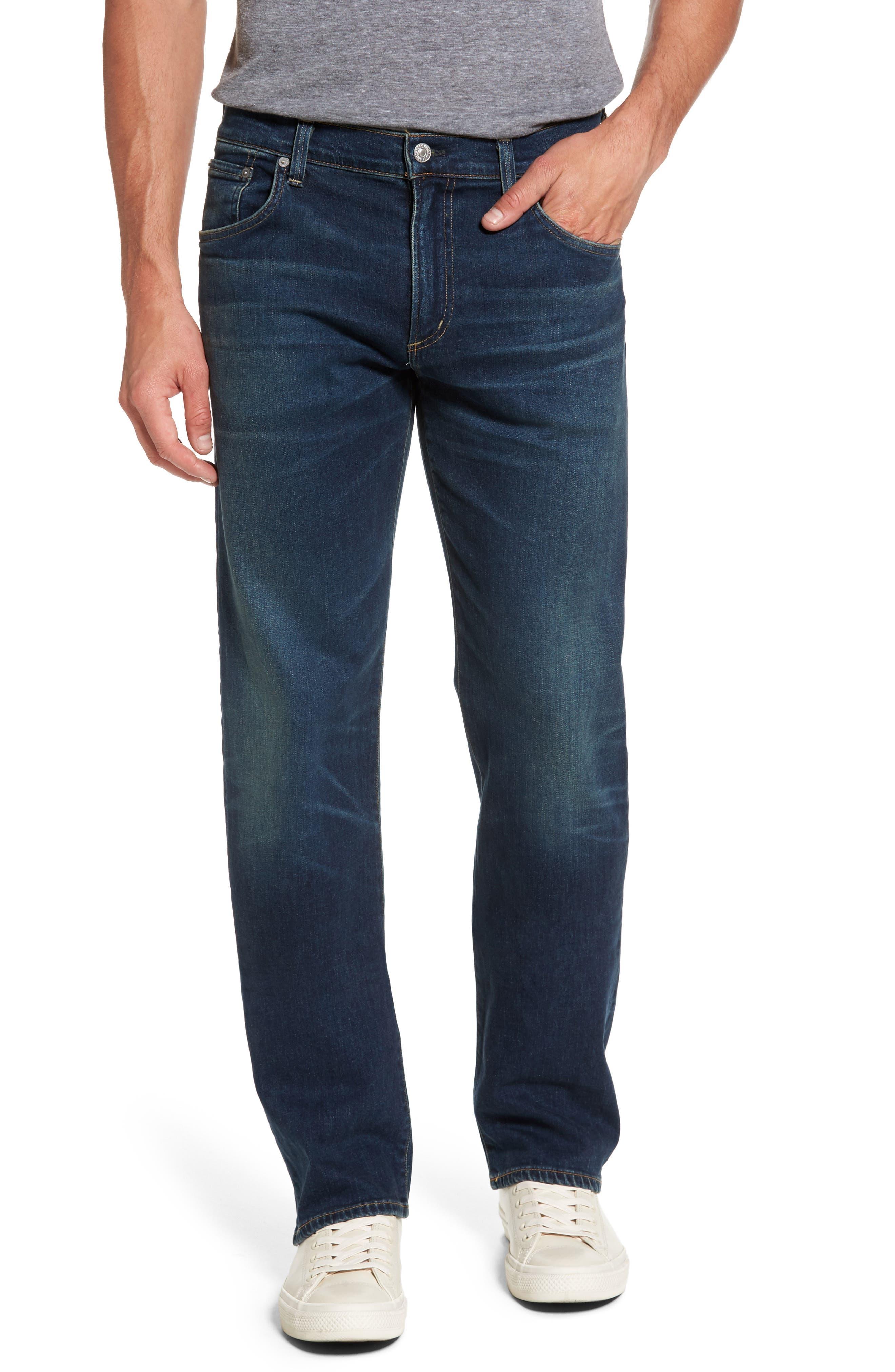 Sid Straight Leg Jeans,                         Main,                         color, Brigade