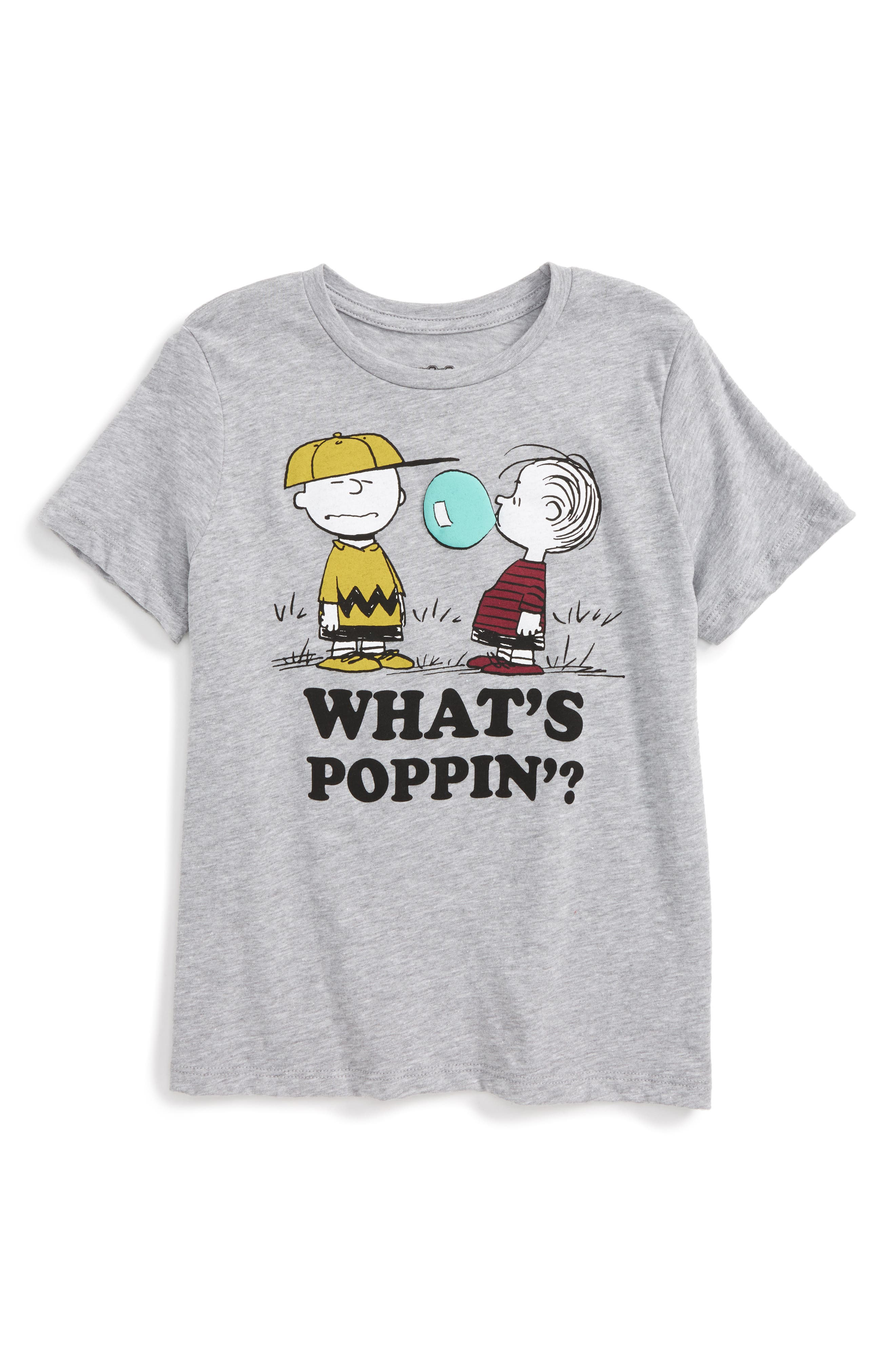 Mighty Fine x Peanuts What's Poppin'? T-Shirt (Toddler Boys & Little Boys)