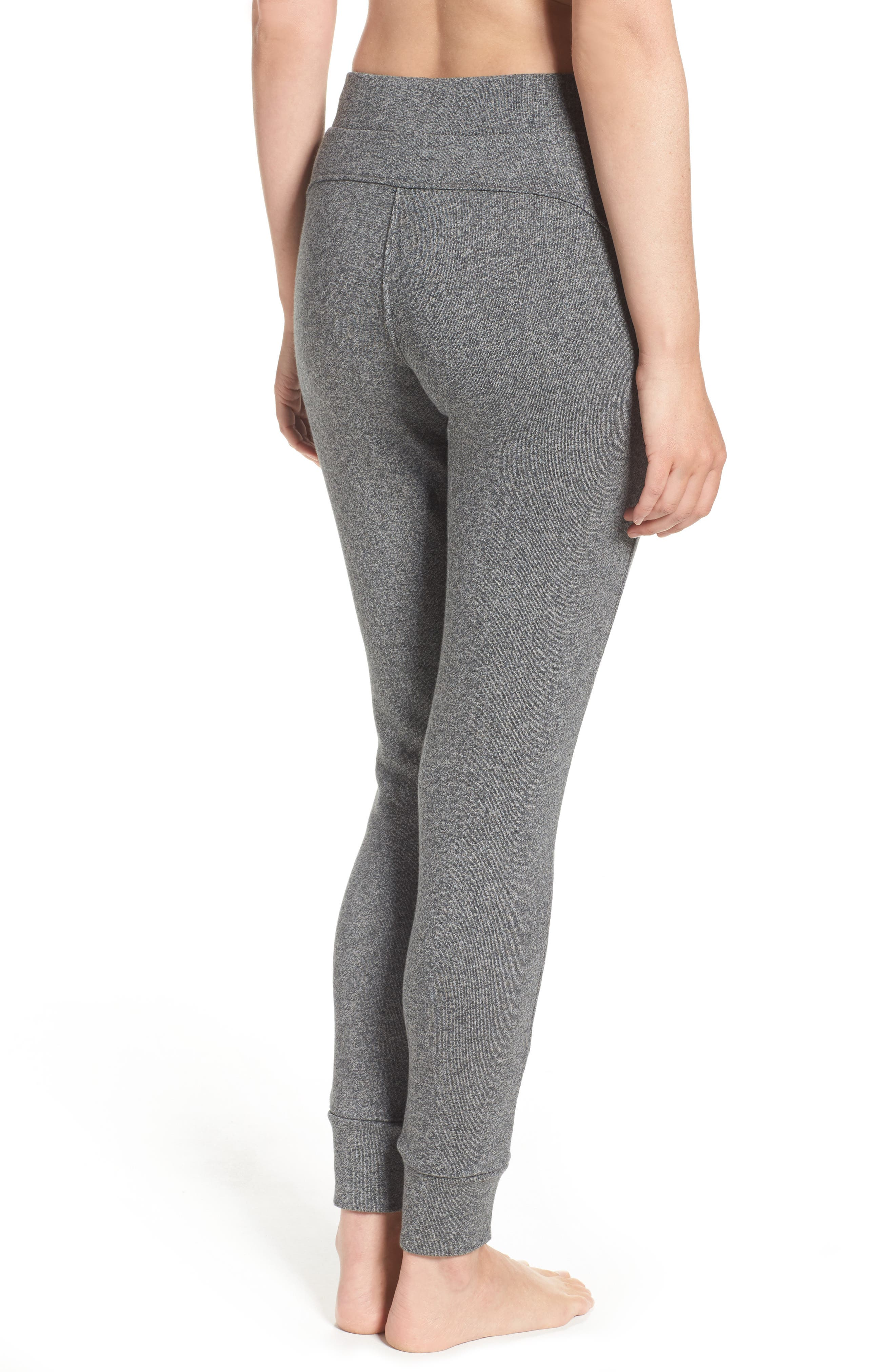 Clementine Terrry Sweatpants,                             Alternate thumbnail 2, color,                             Charcoal Heather