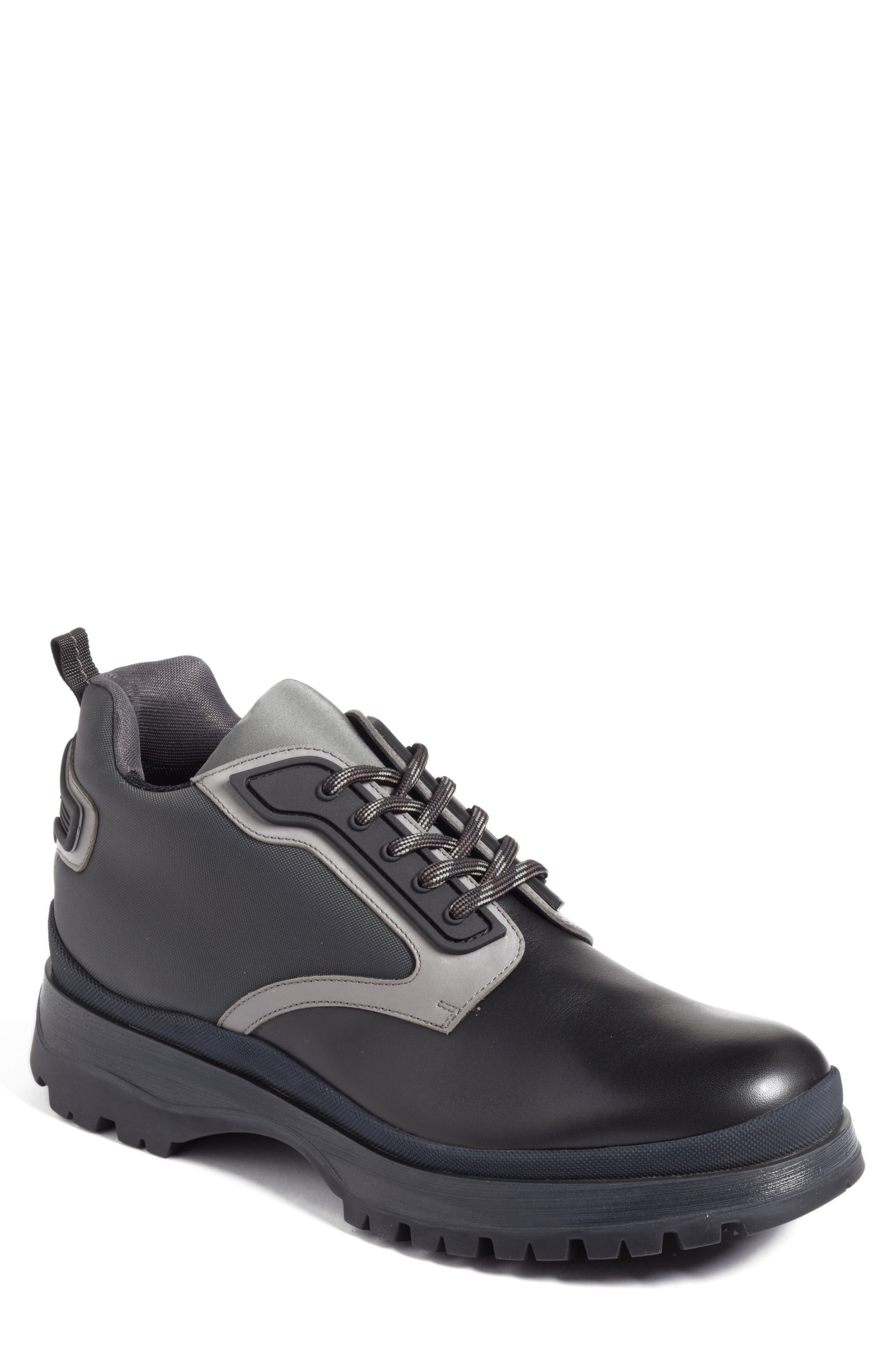 Prada Linea Rossa Tech Sneaker Boot (Men)