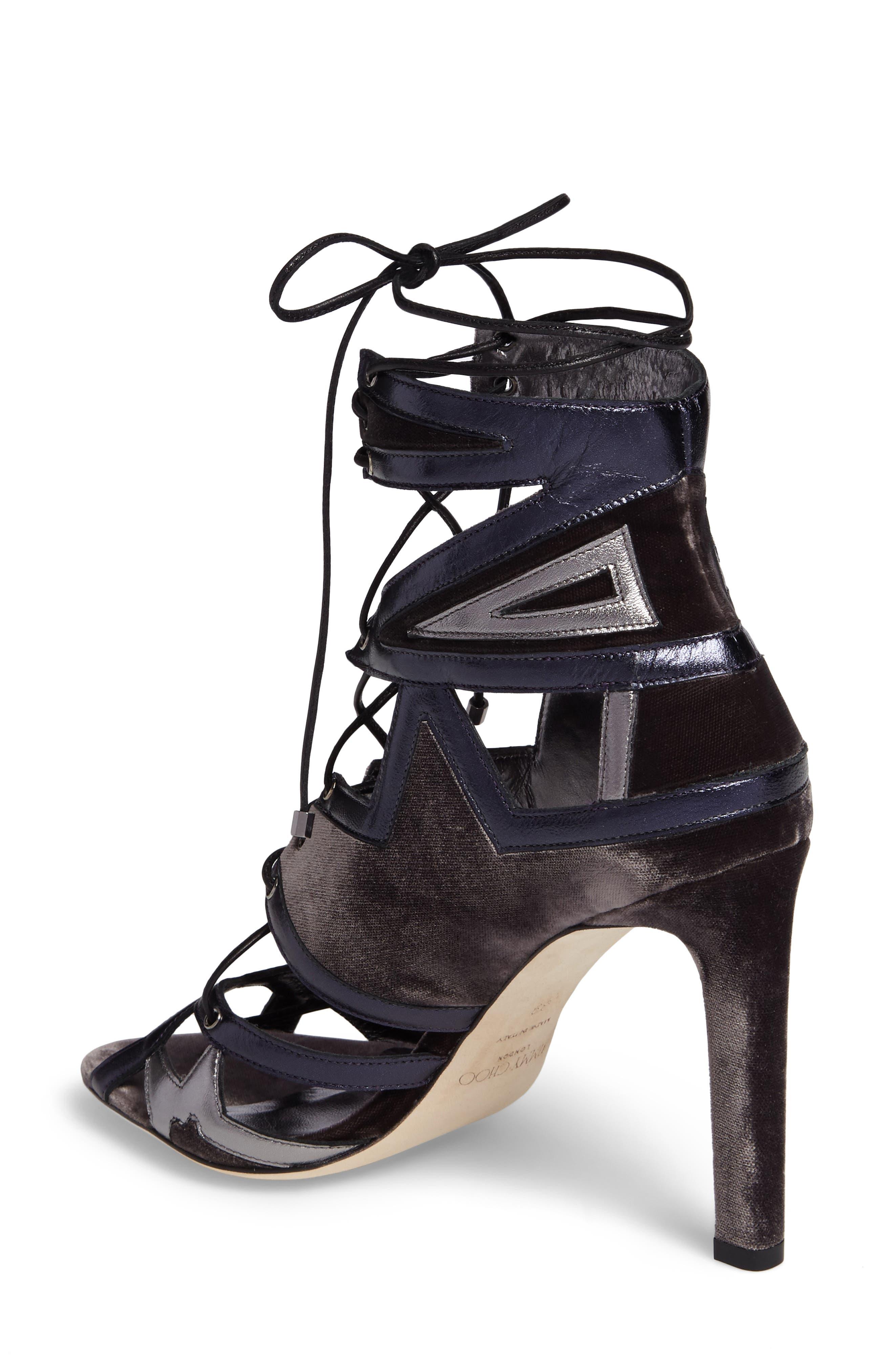 Alternate Image 2  - Jimmy Choo Denney Lace-Up Sandal (Women)