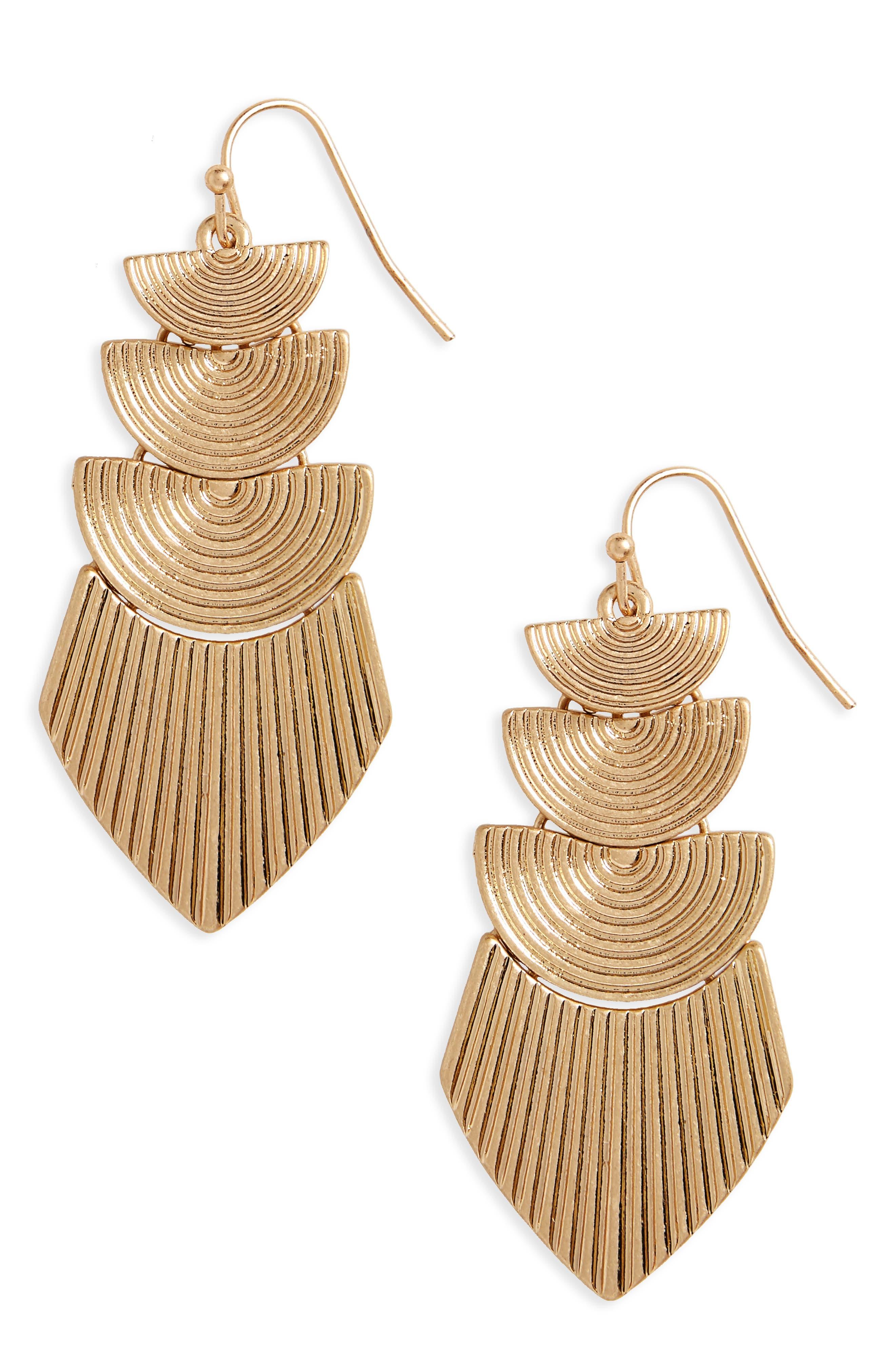 PANACEA Drop Earrings