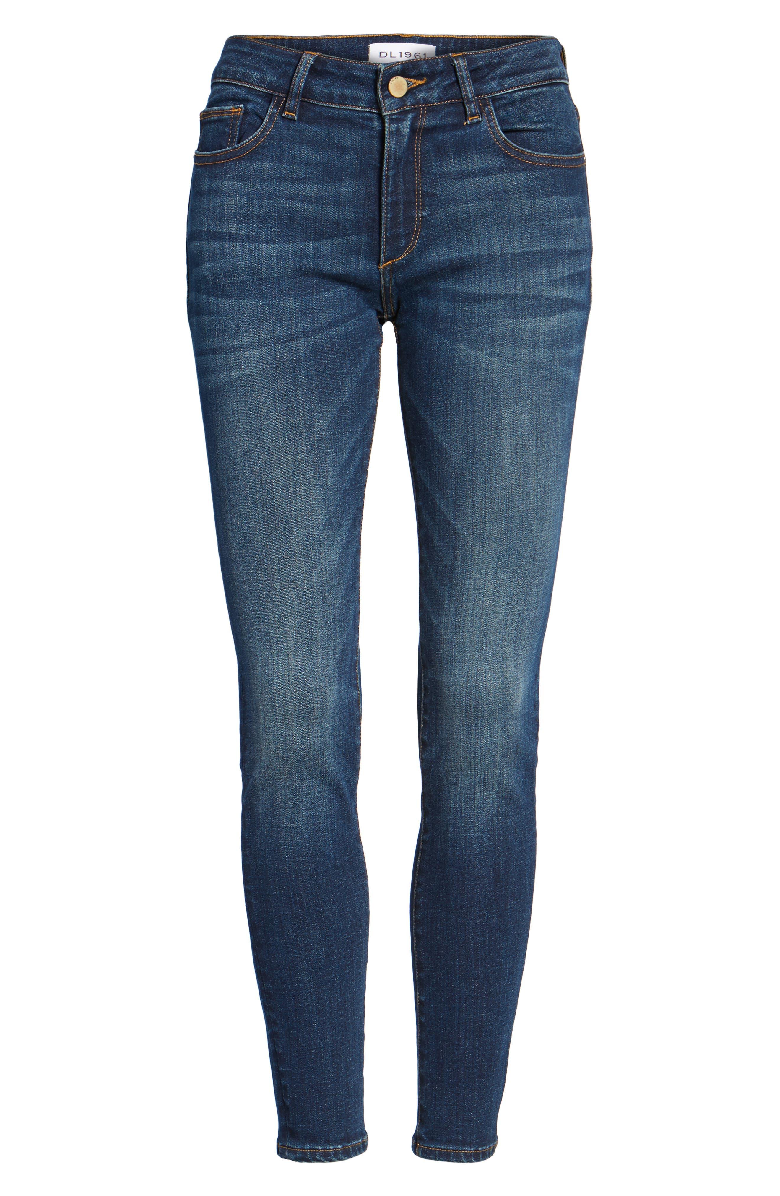 Emma Power Legging Skinny Jeans,                             Alternate thumbnail 7, color,                             Sulton