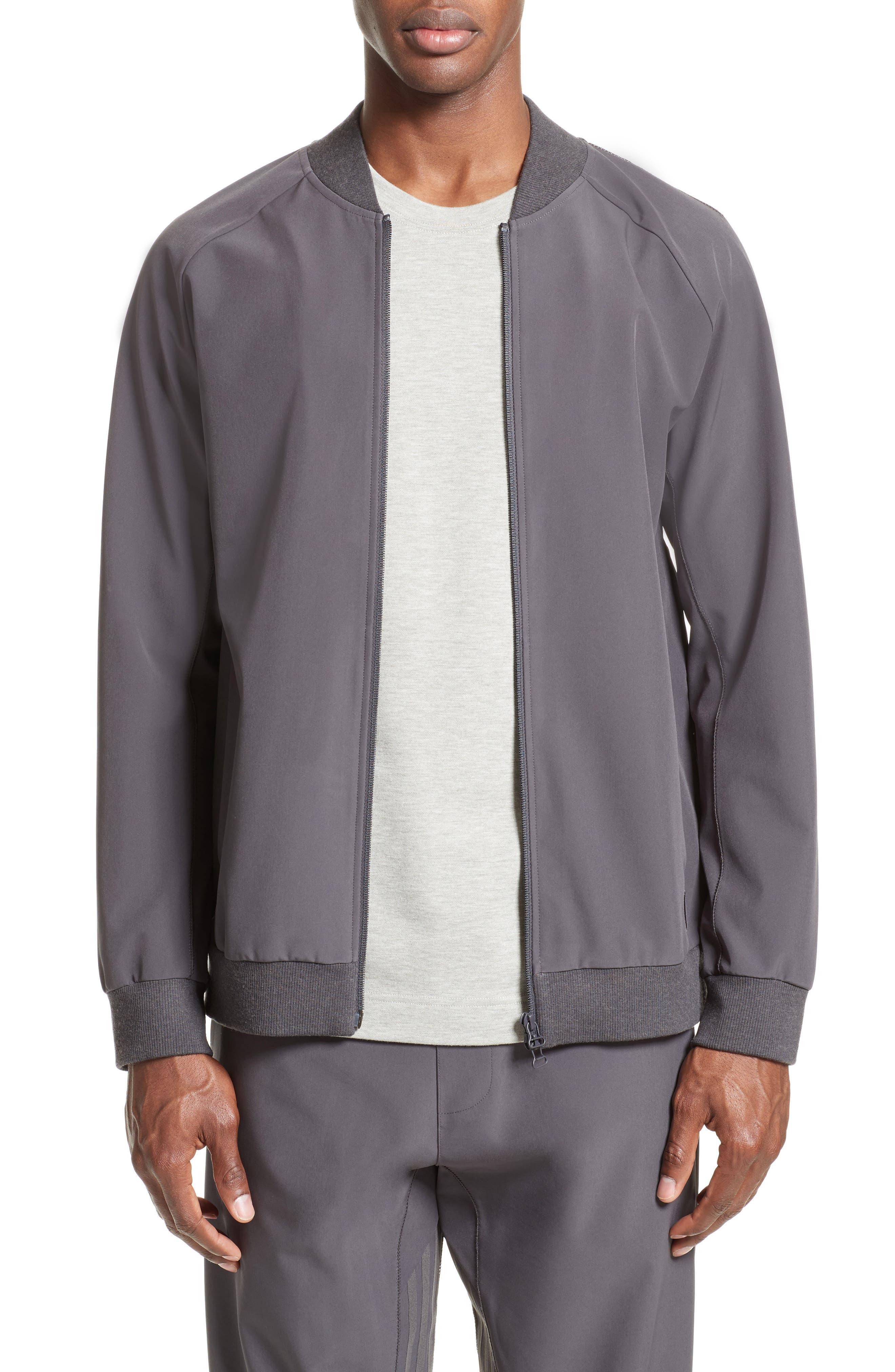 Track Jacket,                         Main,                         color, Utility Black