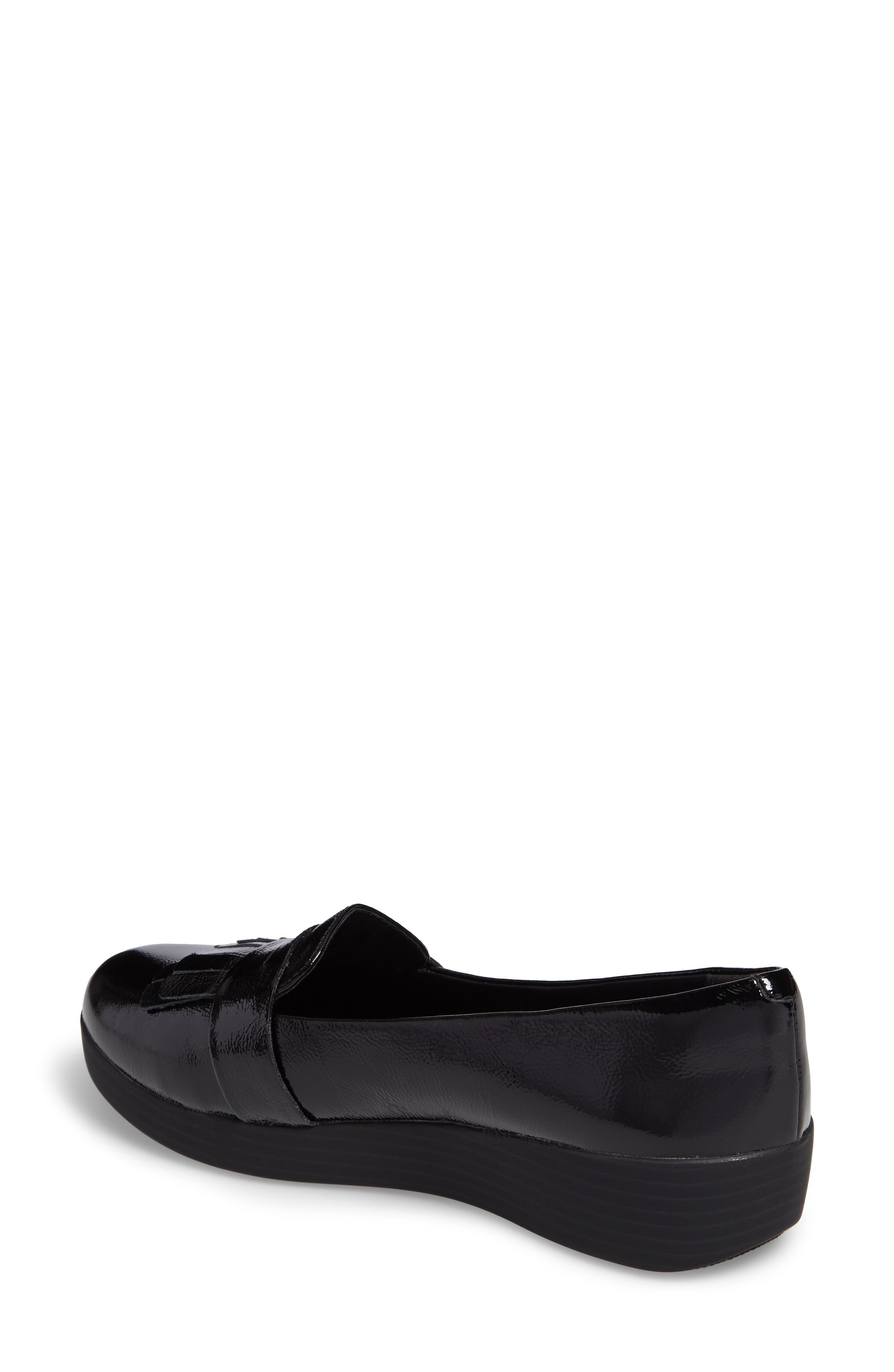 Alternate Image 2  - FitFlop™ Fringey Sneakerloafer Slip-On (Women)