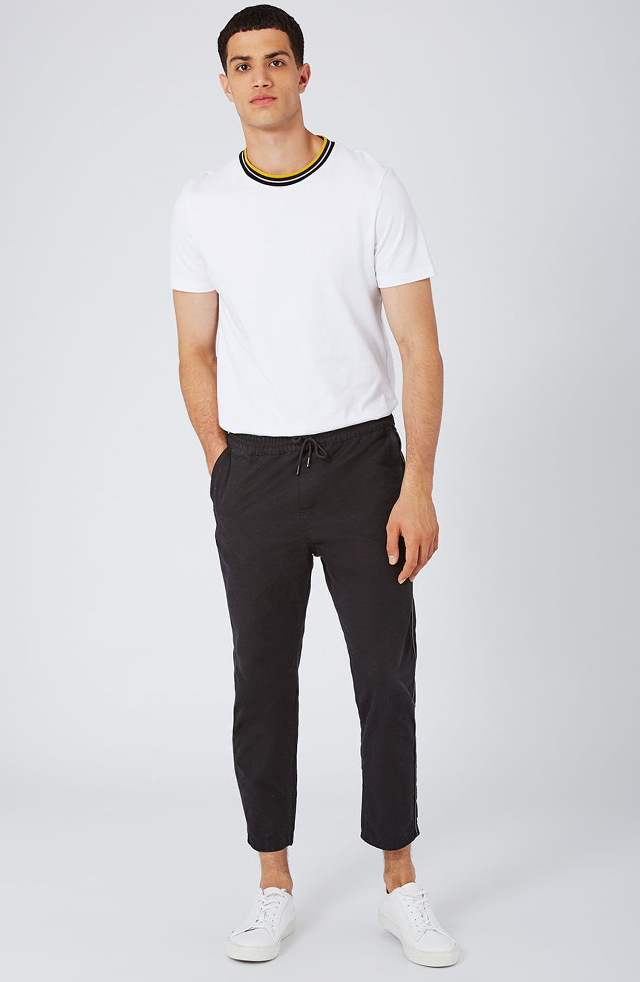 Alternate Image 2  - Topman Canvas Joggers