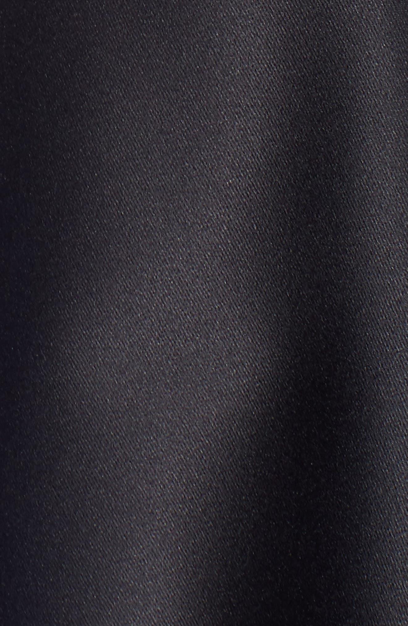 Fit & Flare Dress,                             Alternate thumbnail 5, color,                             Navy Black