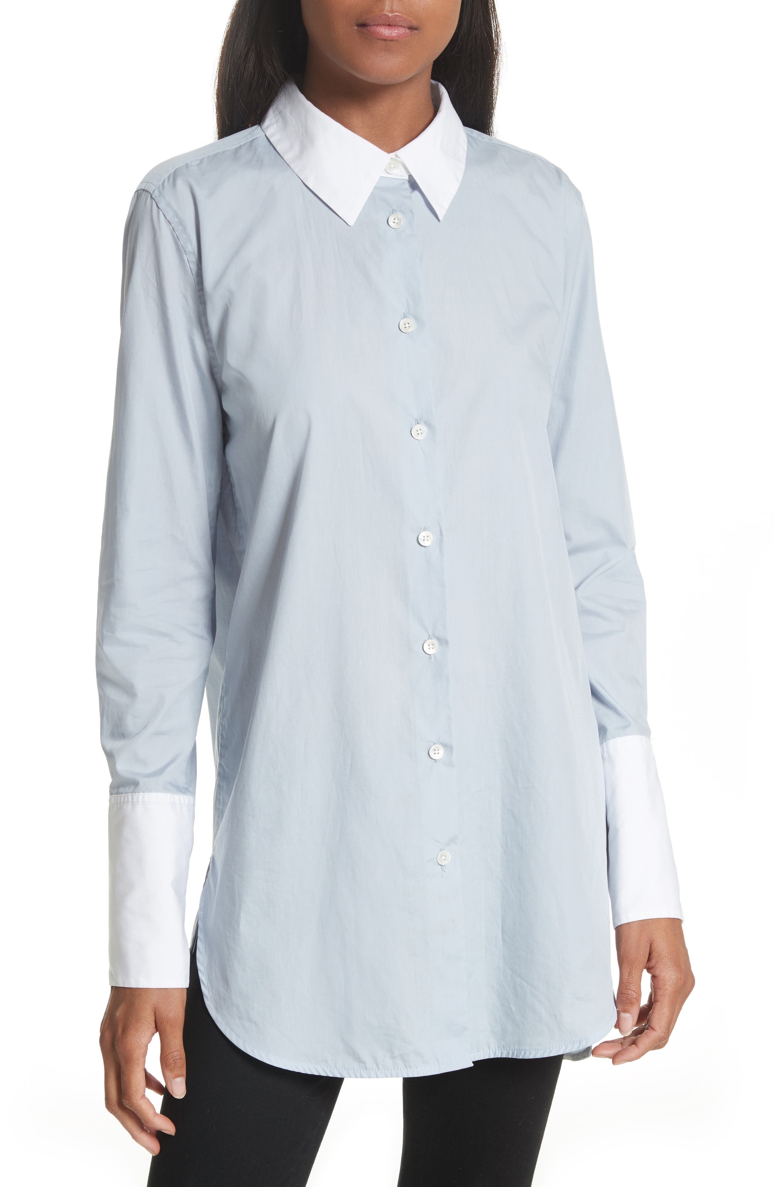Equipment Arlette Oversize Cotton Shirt