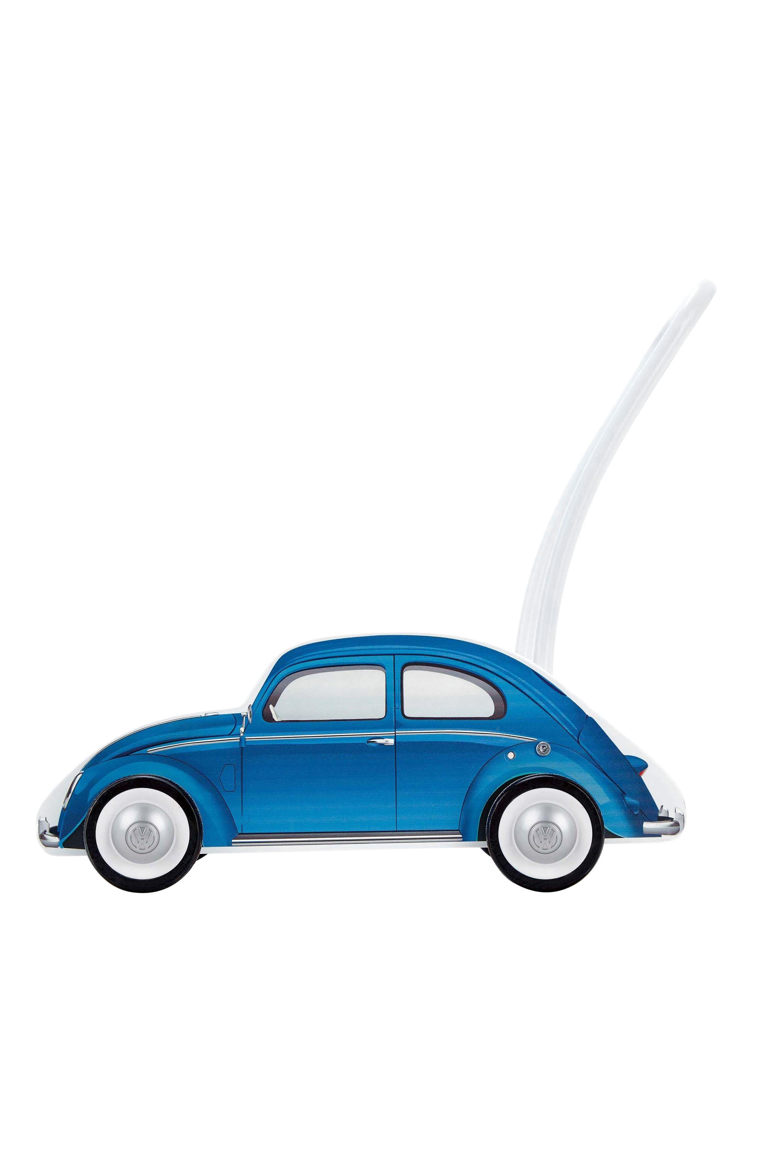 Wooden Push Car,                             Main thumbnail 1, color,                             Blue