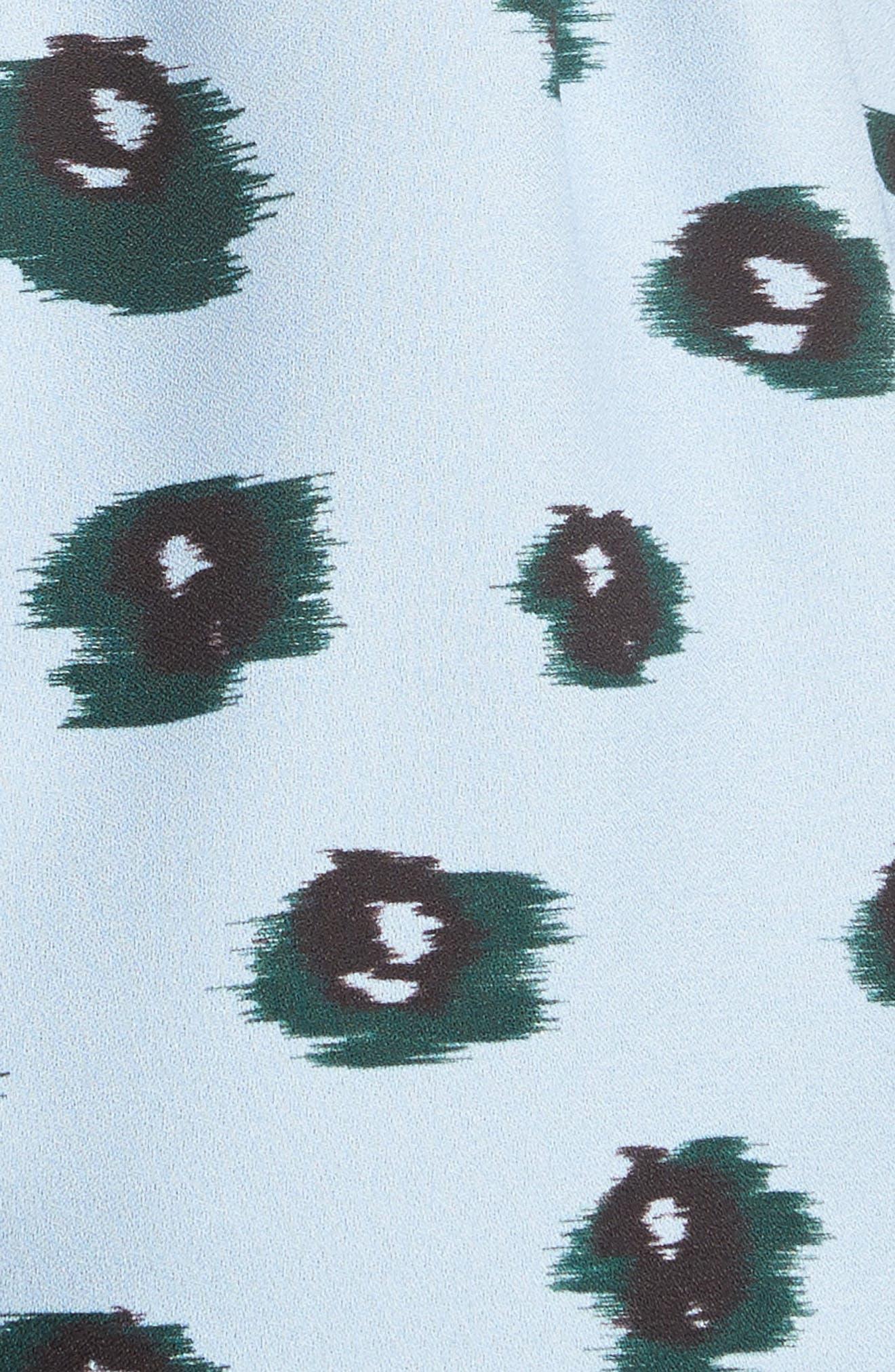 Alternate Image 5  - Proenza Schouler Print Front Tie Top