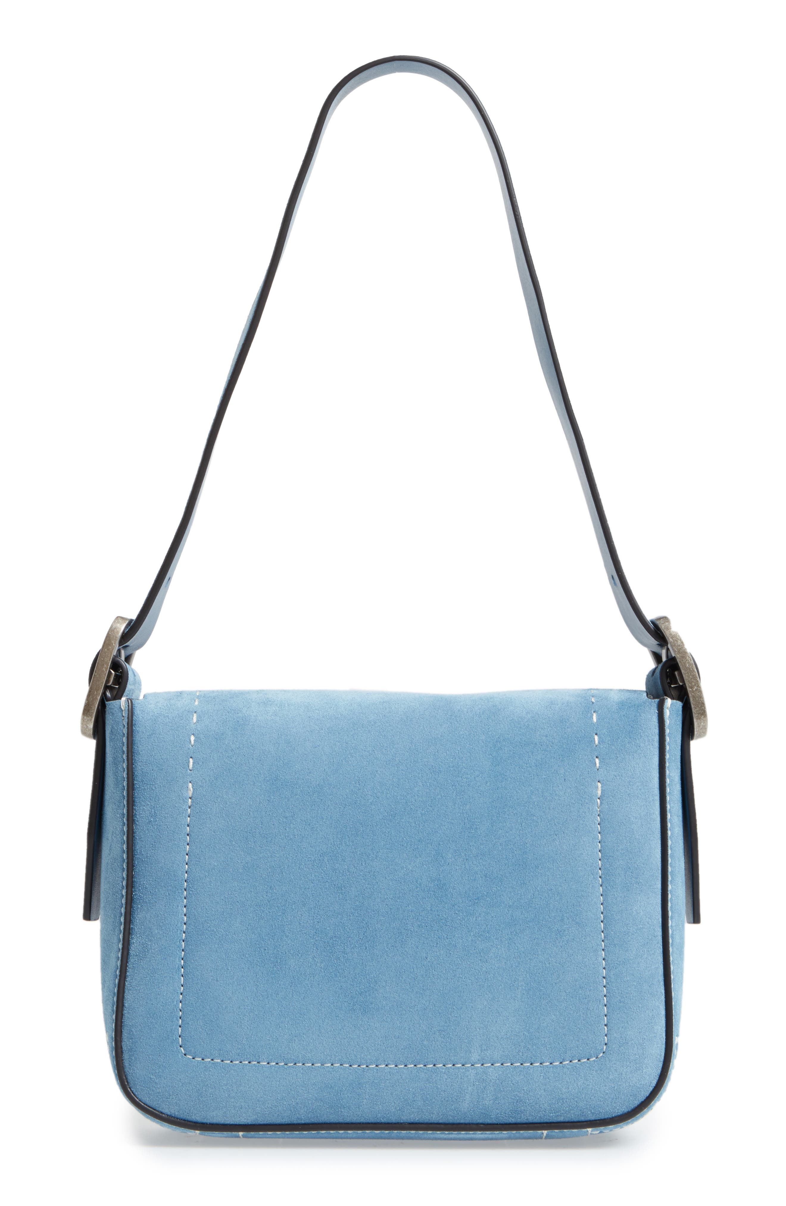 Alternate Image 3  - Tory Burch Small Sawyer Suede Shoulder Bag