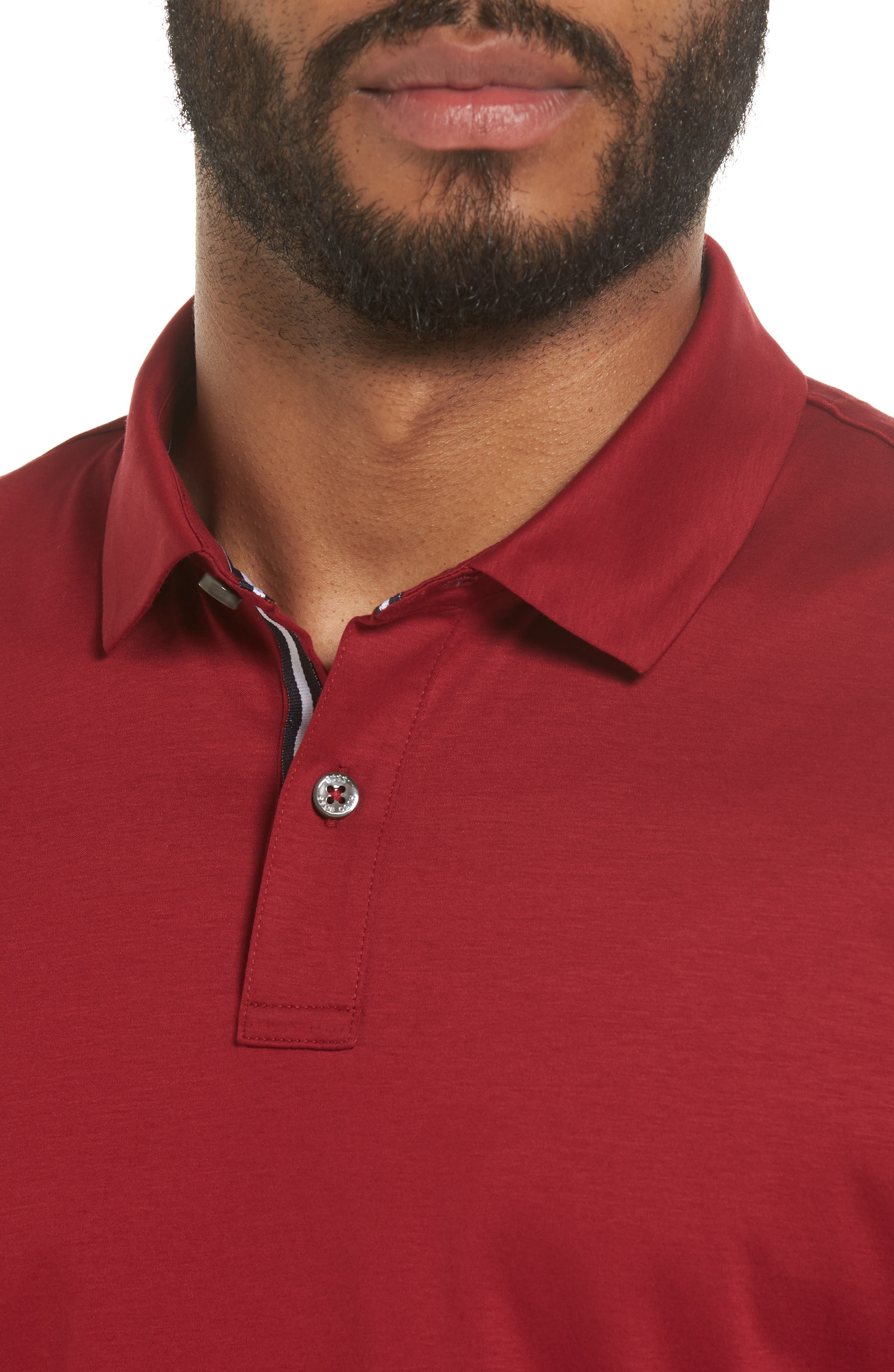 Alternate Image 4  - BOSS Press 21 Solid Regular Fit Polo