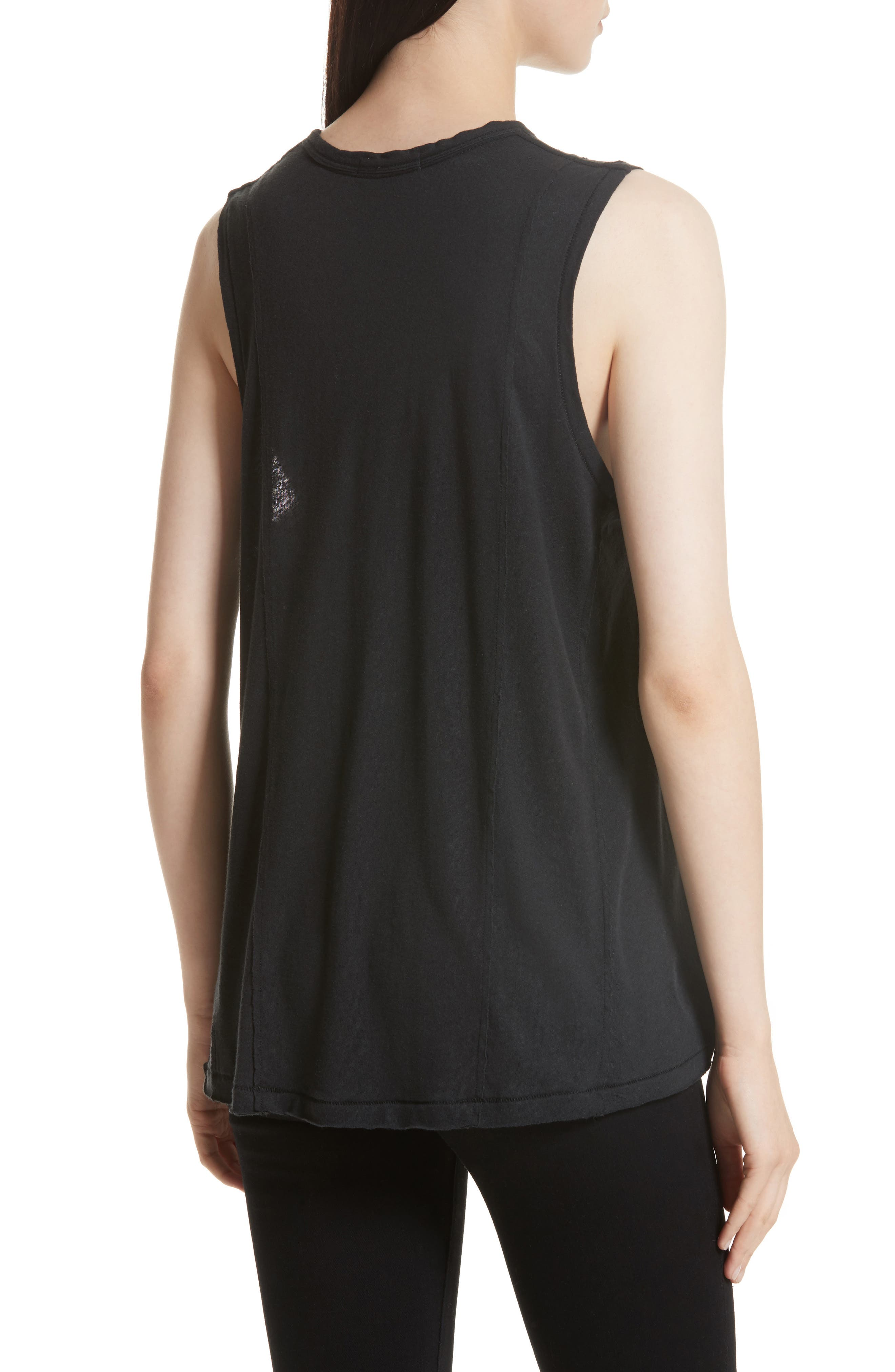 Alternate Image 2  - rag & bone/JEAN Dahlia Muscle Tank