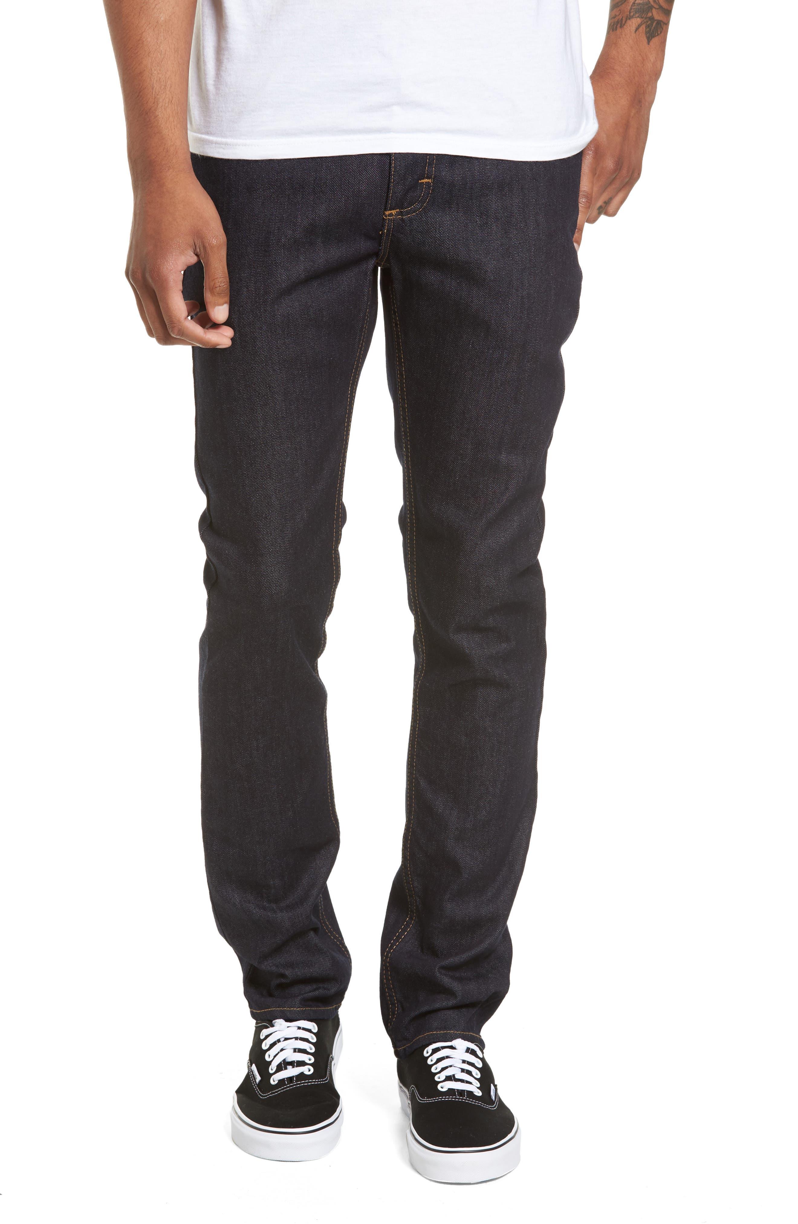 V76 Skinny Jeans,                         Main,                         color, Indigo