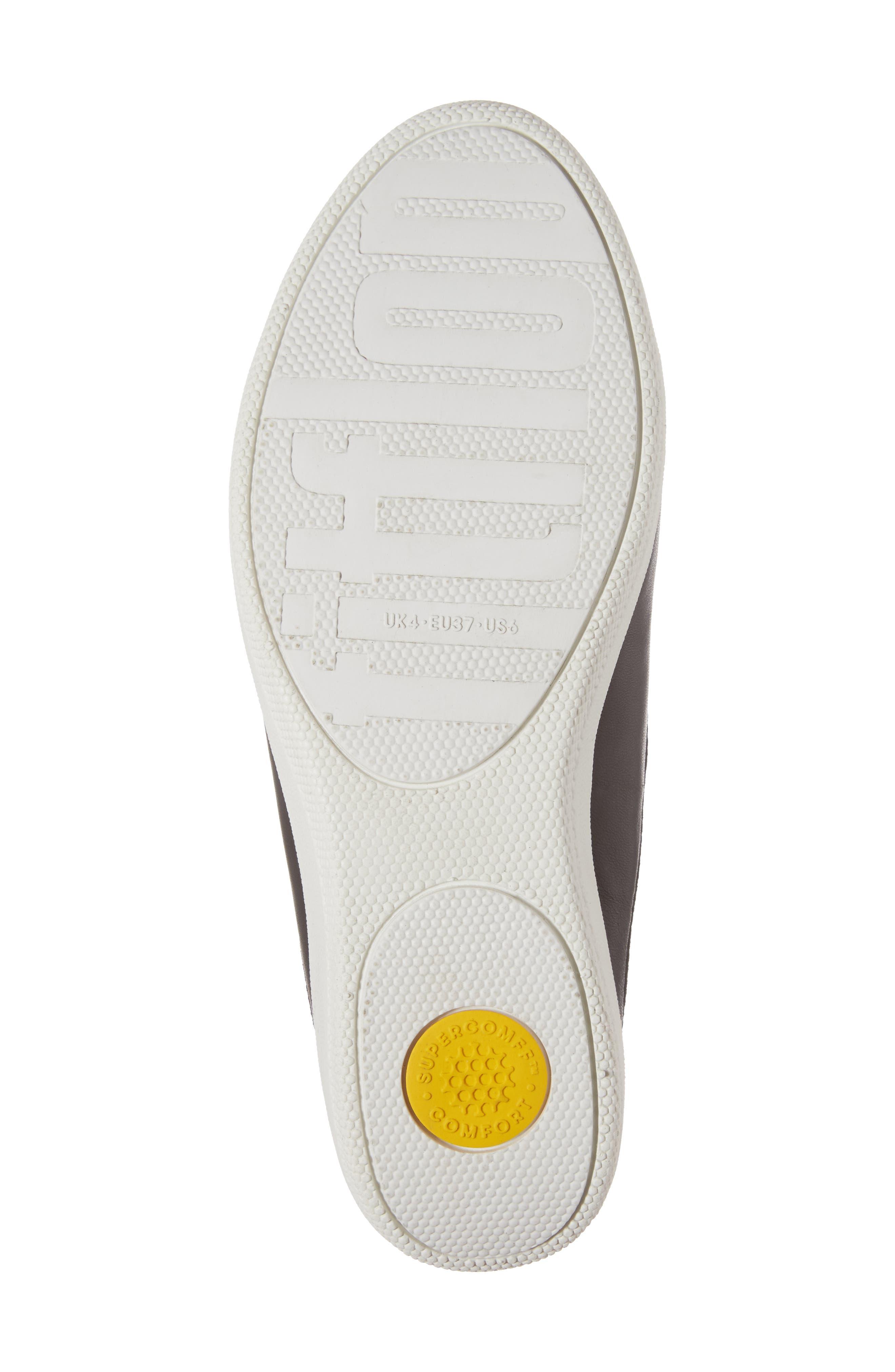 Alternate Image 6  - FitFlop Superskate Tasseled Loafer Mule (Women)