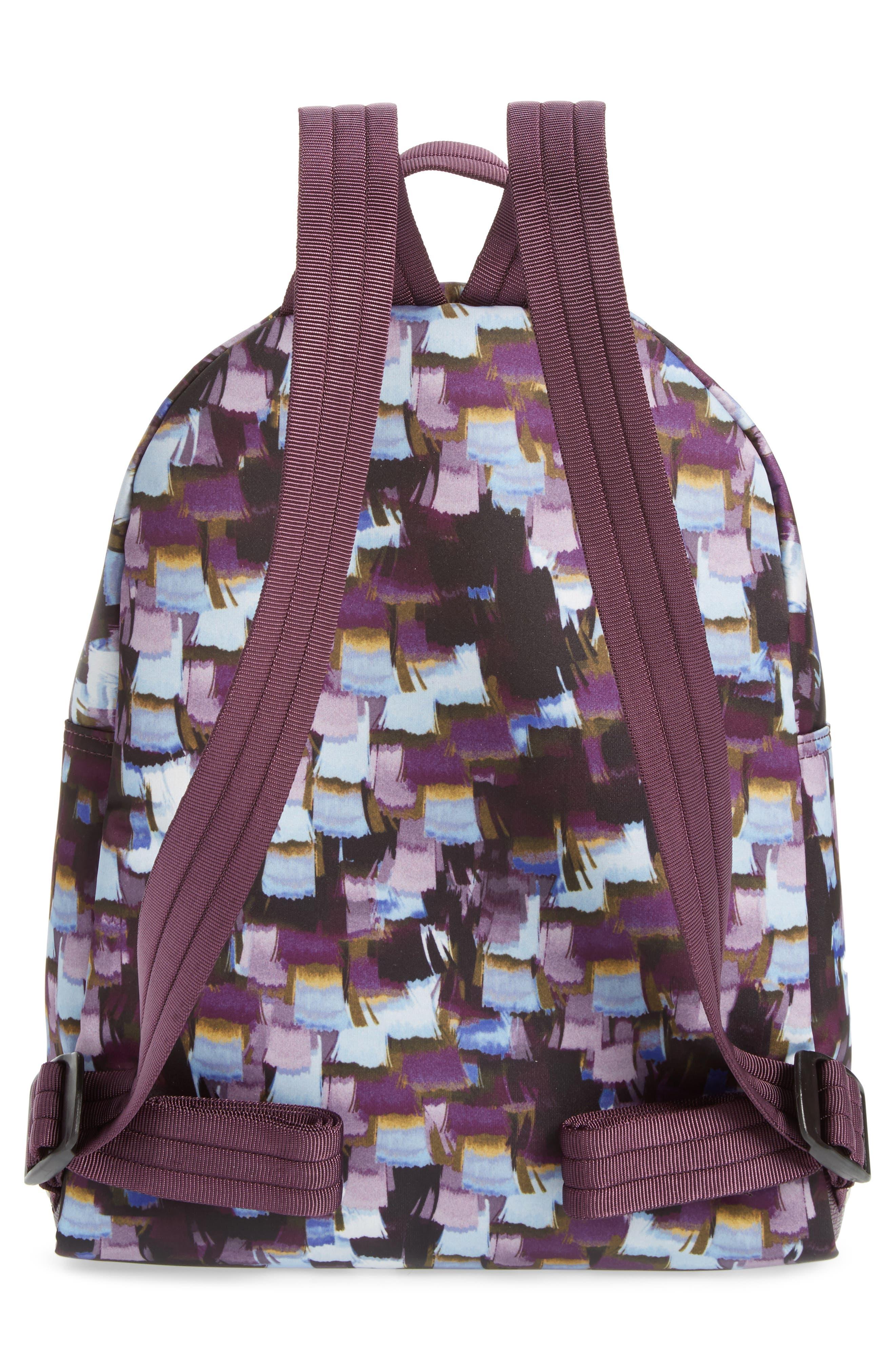 Le Pliage Neo - Vibrations Nylon Backpack,                             Alternate thumbnail 2, color,                             Deep Purple