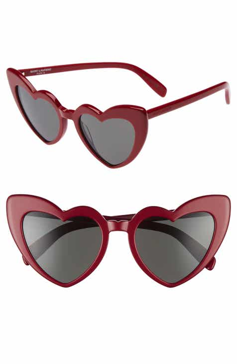 a0175418ba Saint Laurent Loulou 54mm Heart Sunglasses