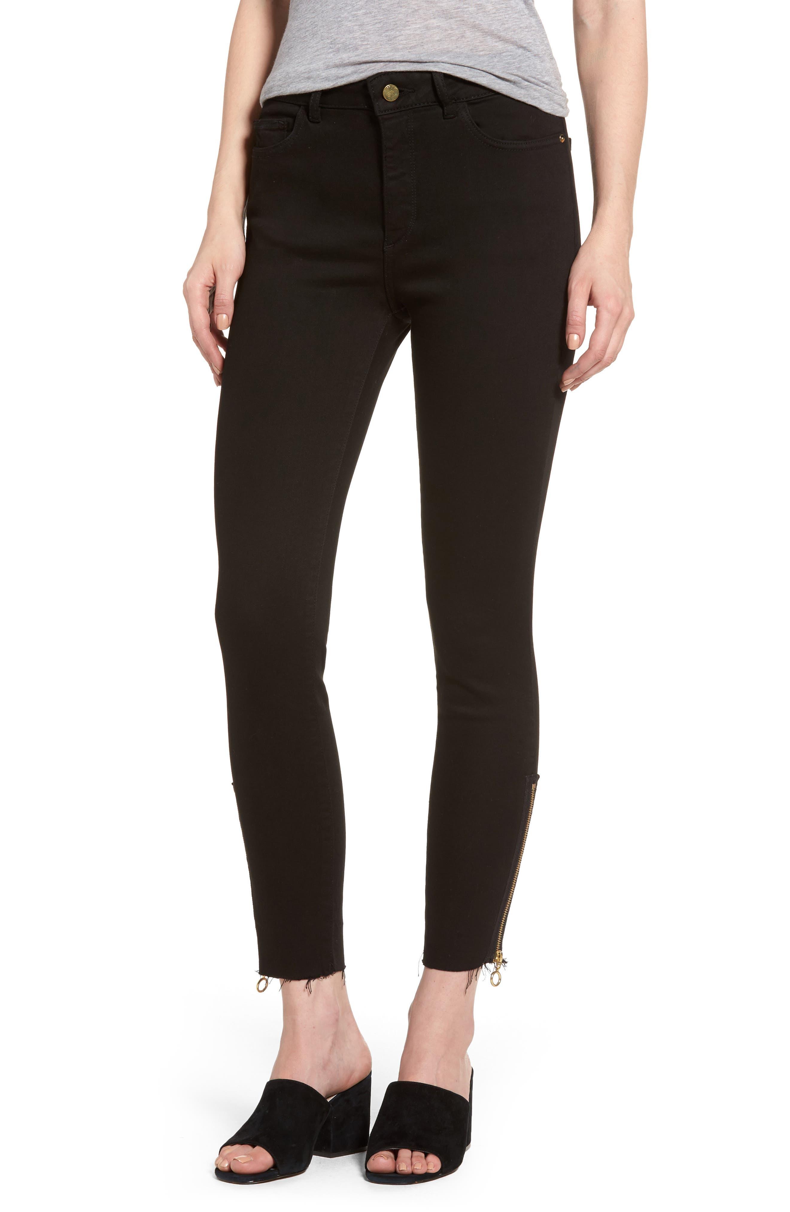 Main Image - DL1961 Farrow Instaslim High Waist Ankle Skinny Jeans (Medway)
