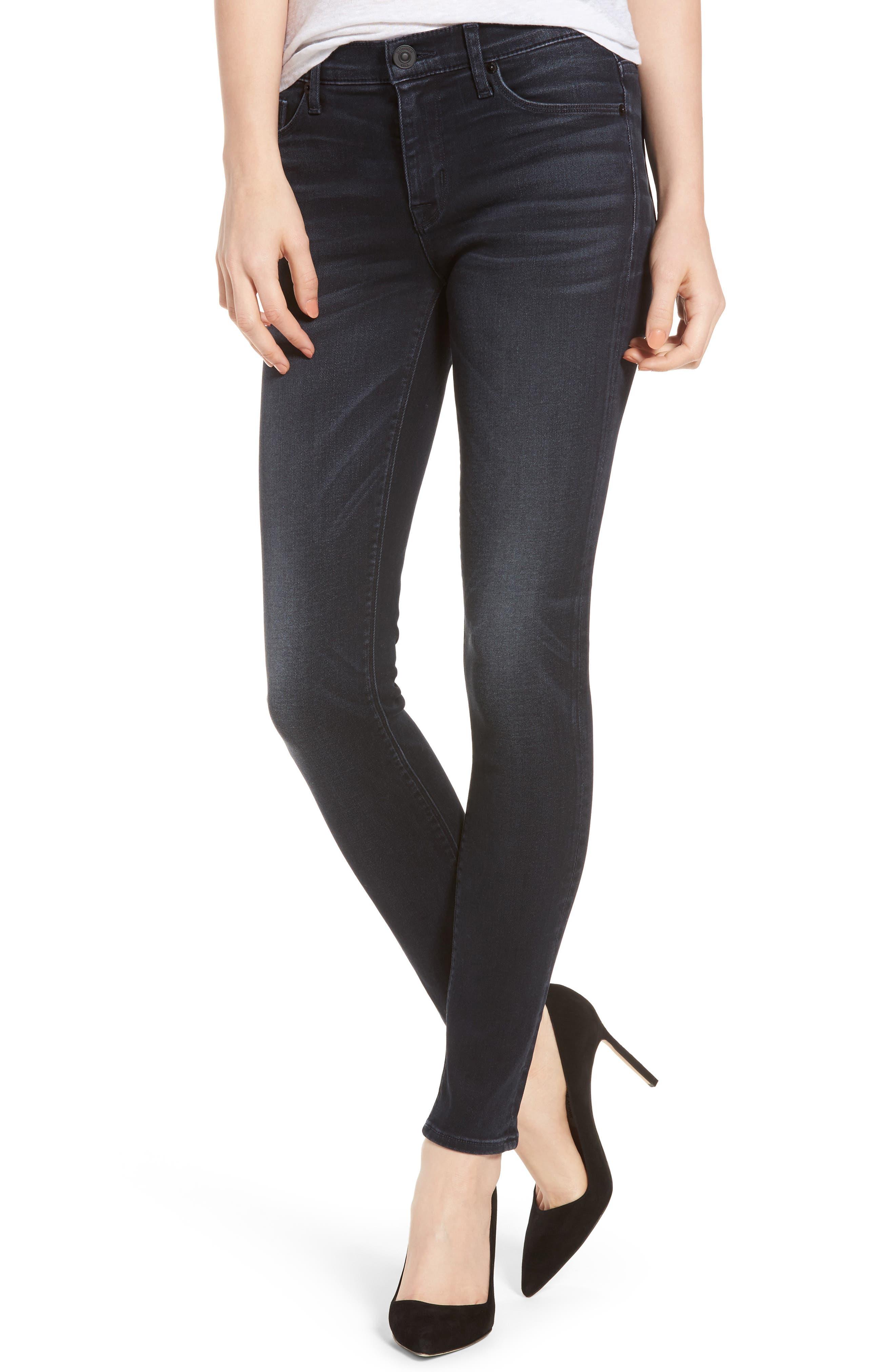 Alternate Image 1 Selected - Hudson Jeans Nico Super Skinny Jeans (Soft Shock)